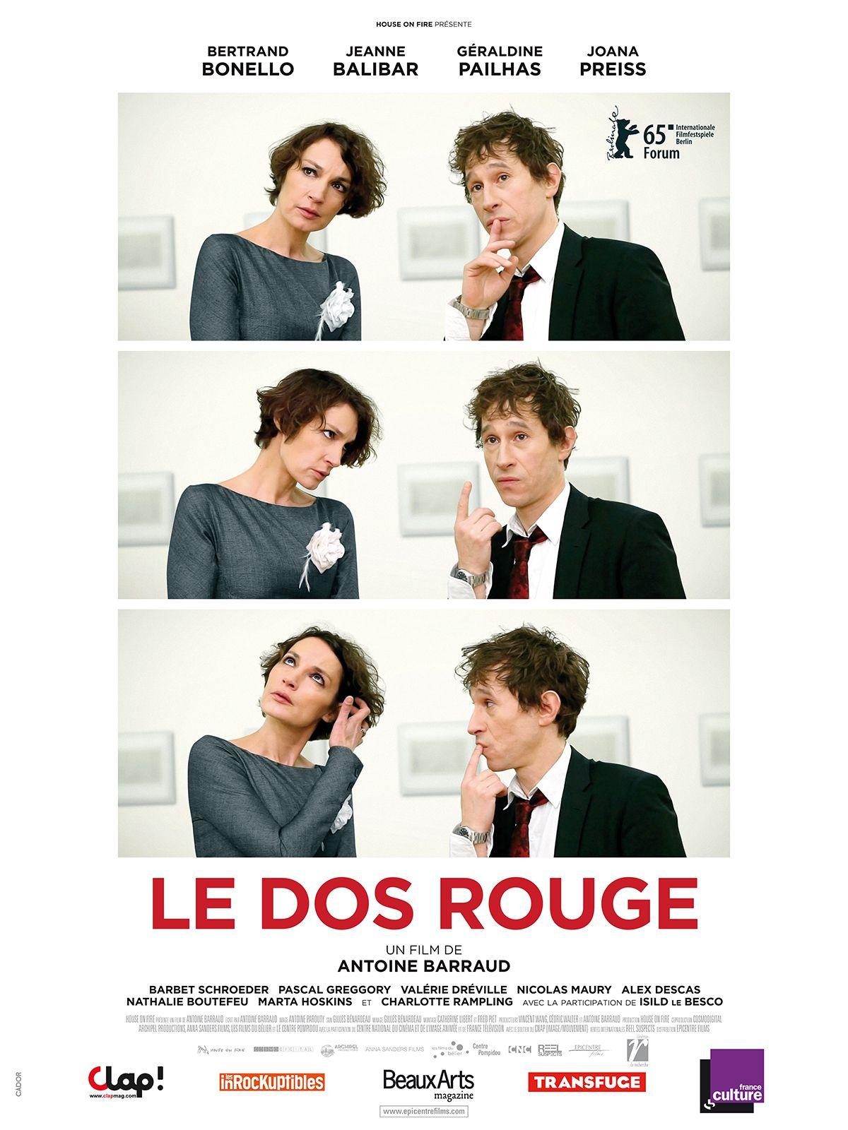 Le Dos rouge - Film (2015)