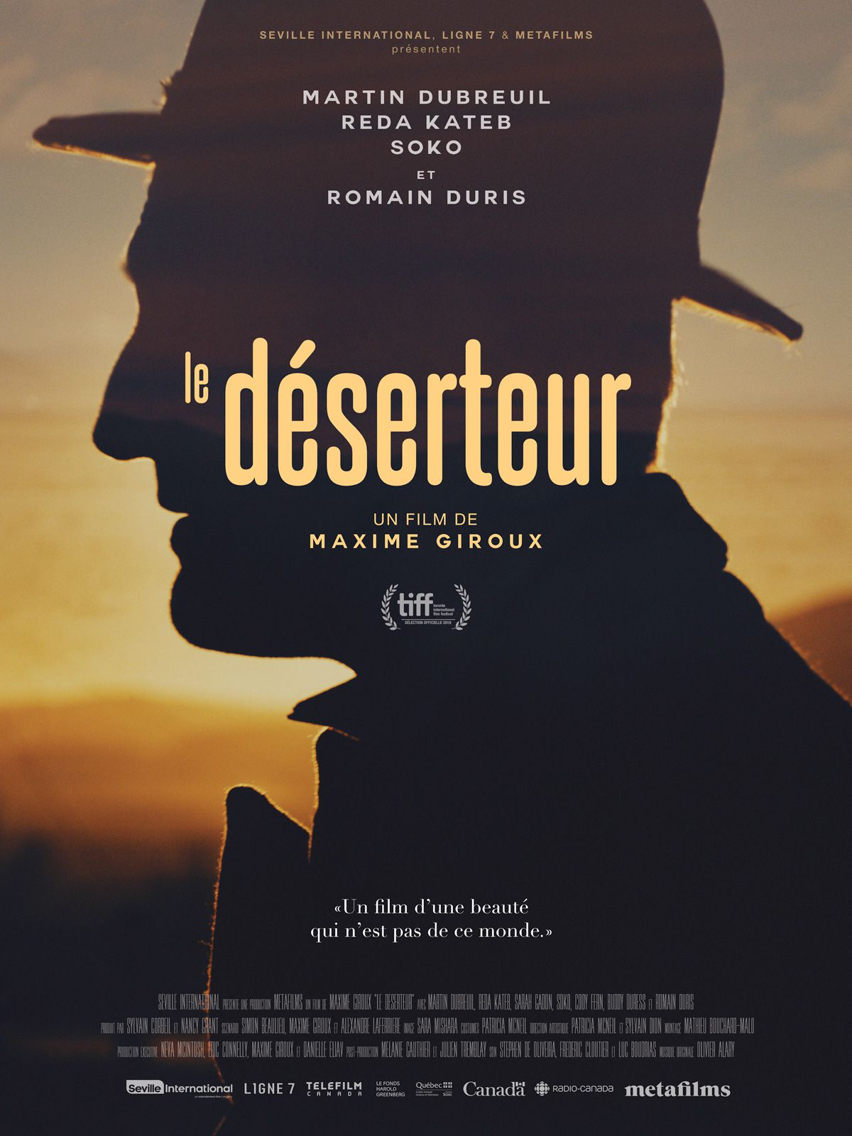 Le Déserteur - Film (2019)