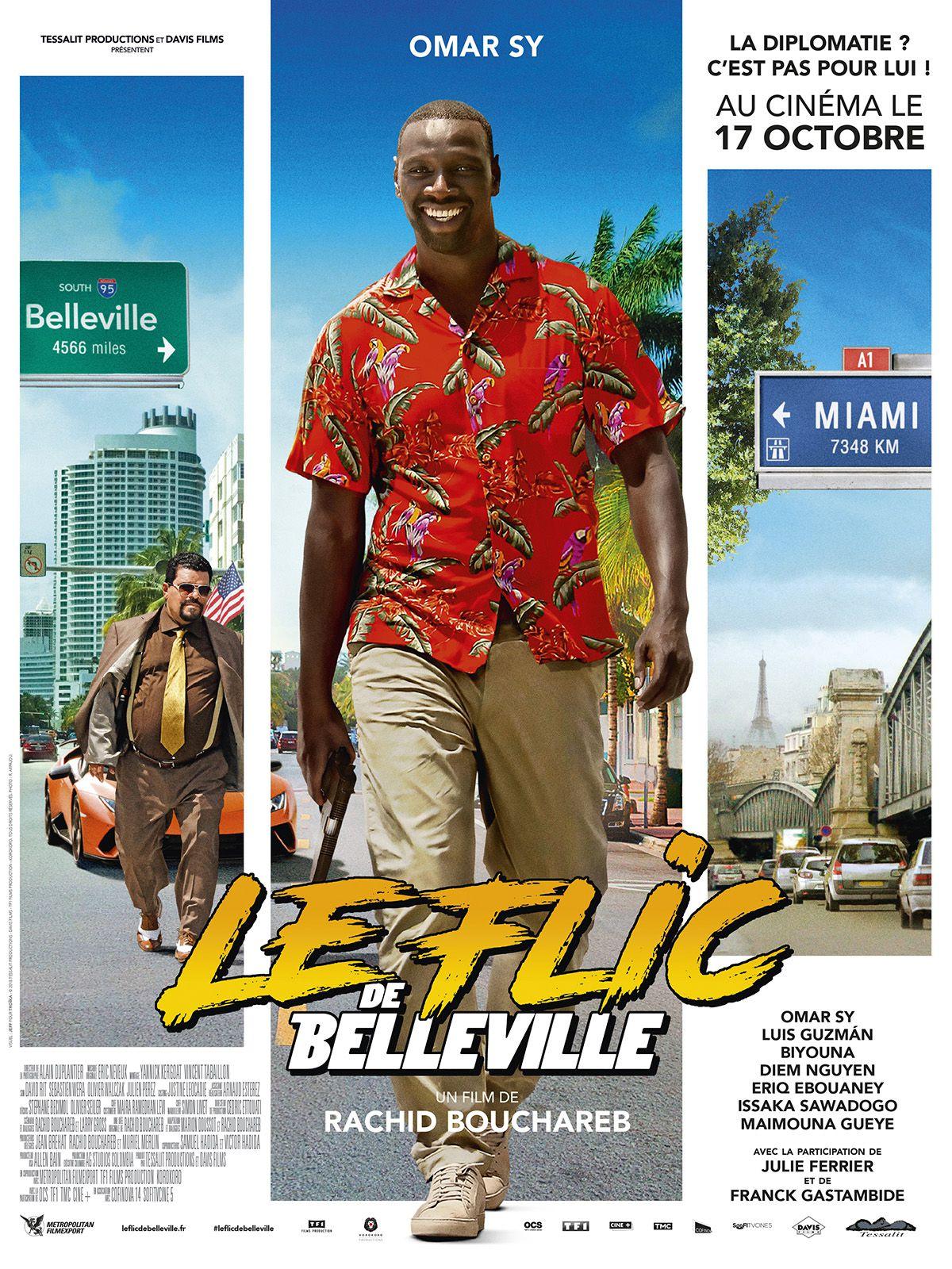 Le Flic de Belleville - Film (2018)