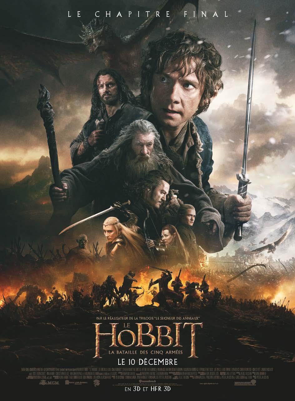 Le Hobbit : La Bataille des cinq armées - Film (2014)