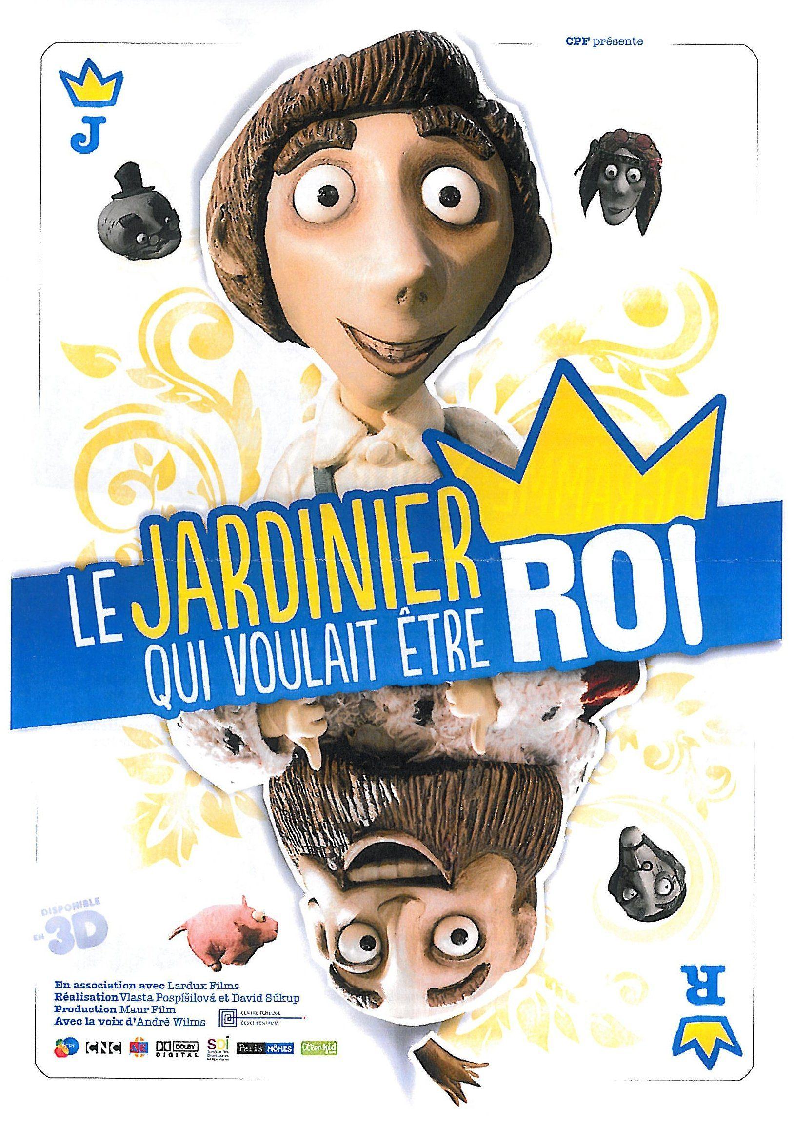 Le Jardinier qui voulait être roi - Long-métrage d'animation (2012)