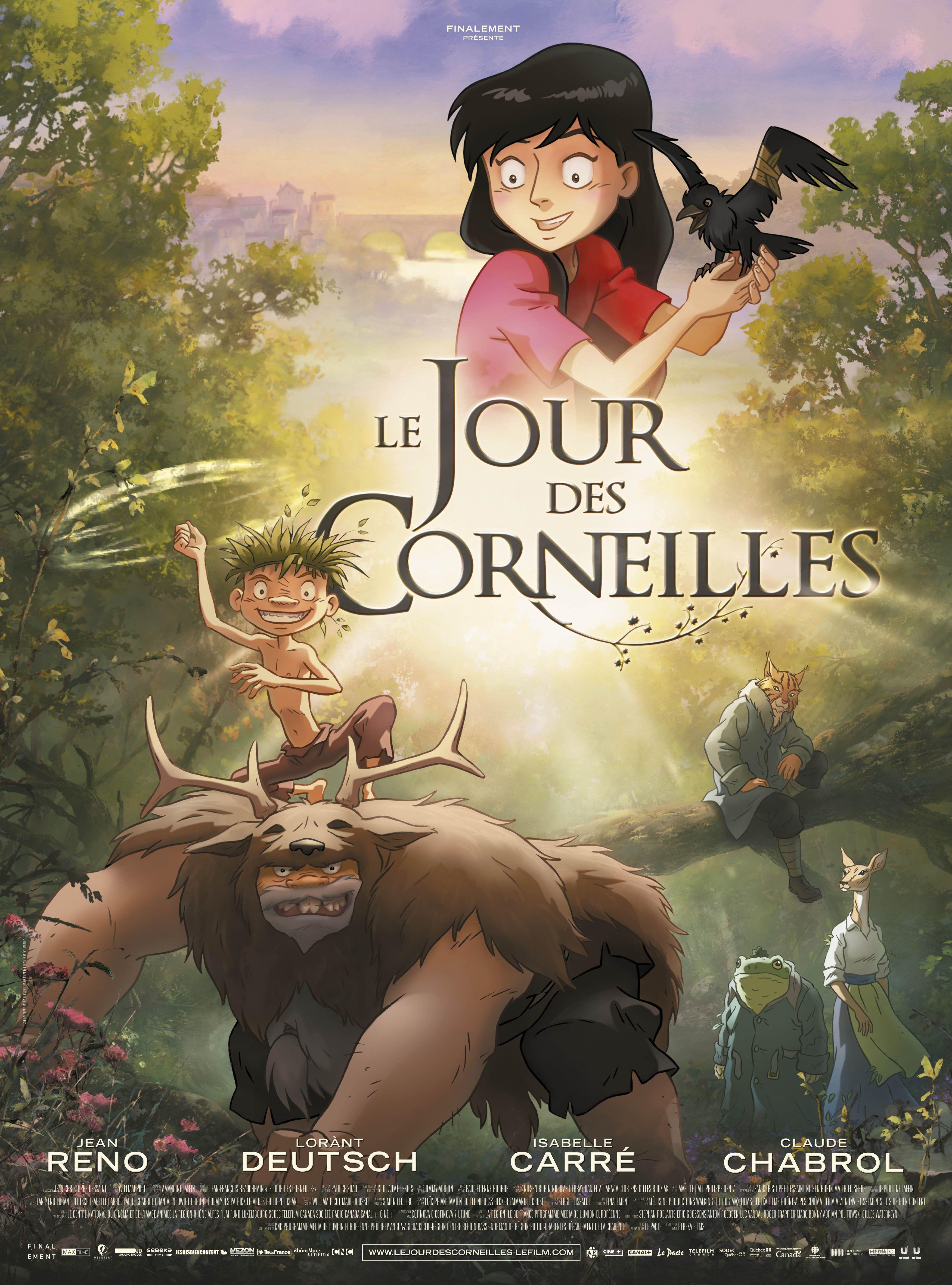 Le Jour des corneilles - Long-métrage d'animation (2012)