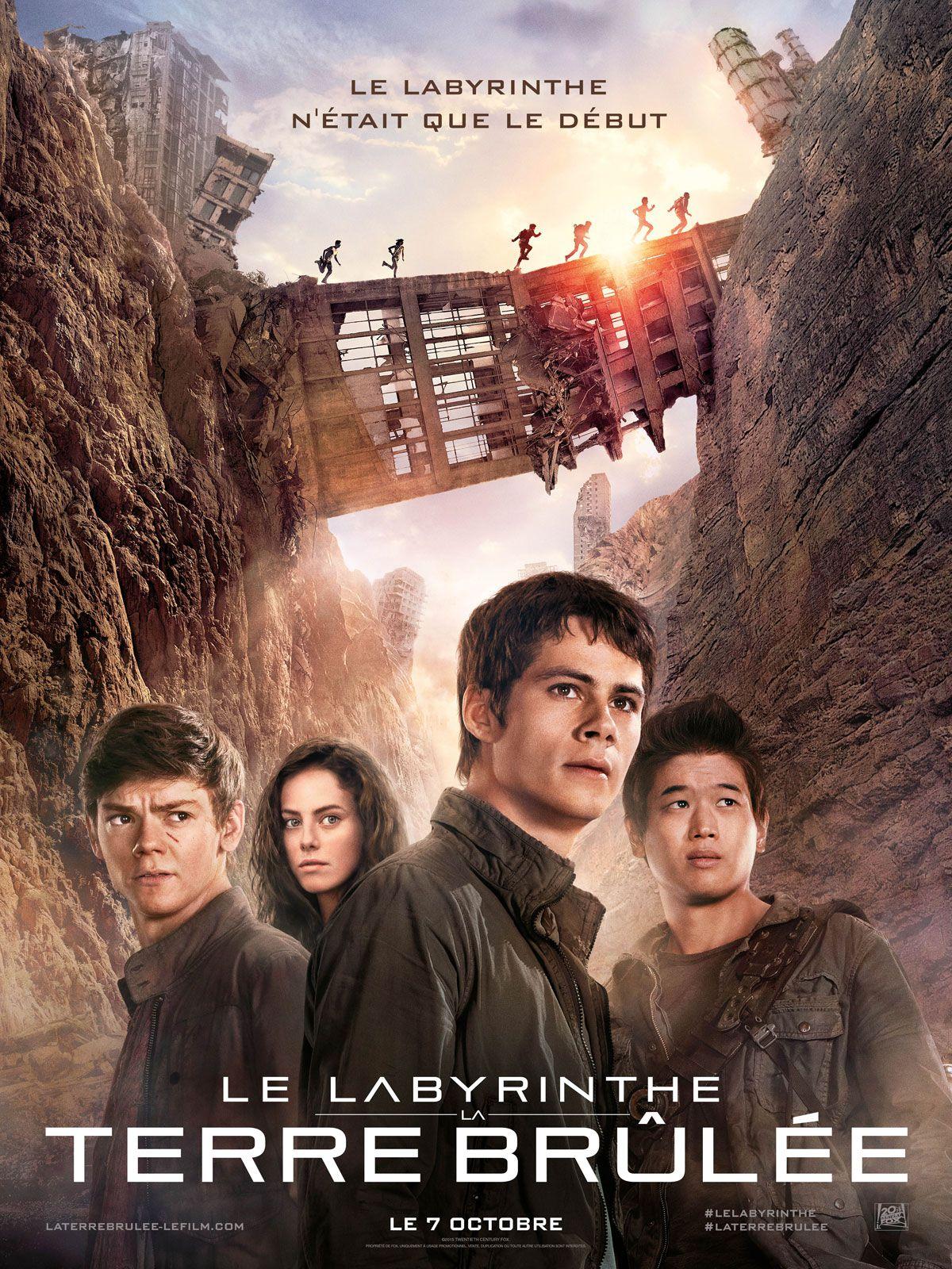Le Labyrinthe : La Terre brûlée - Film (2015)