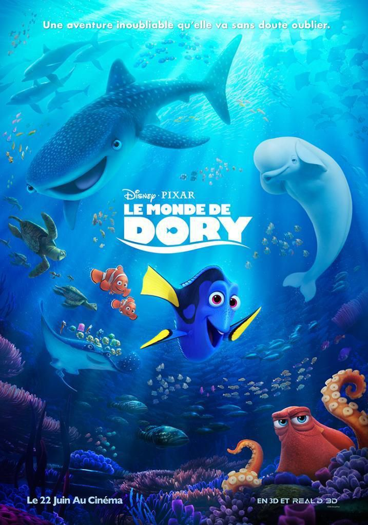 Le Monde de Dory - Long-métrage d'animation (2016)
