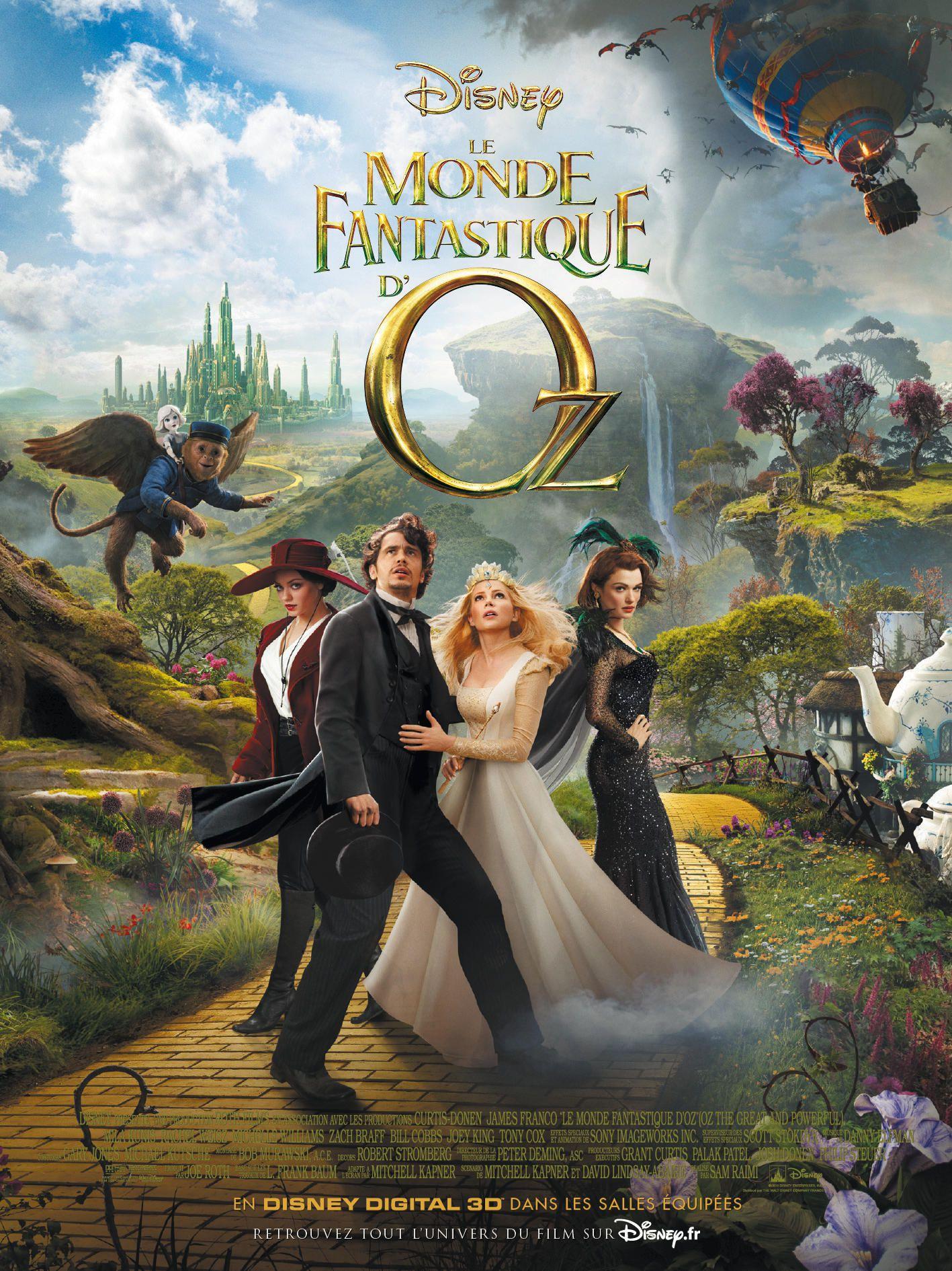 Le Monde fantastique d'Oz - Film (2013)