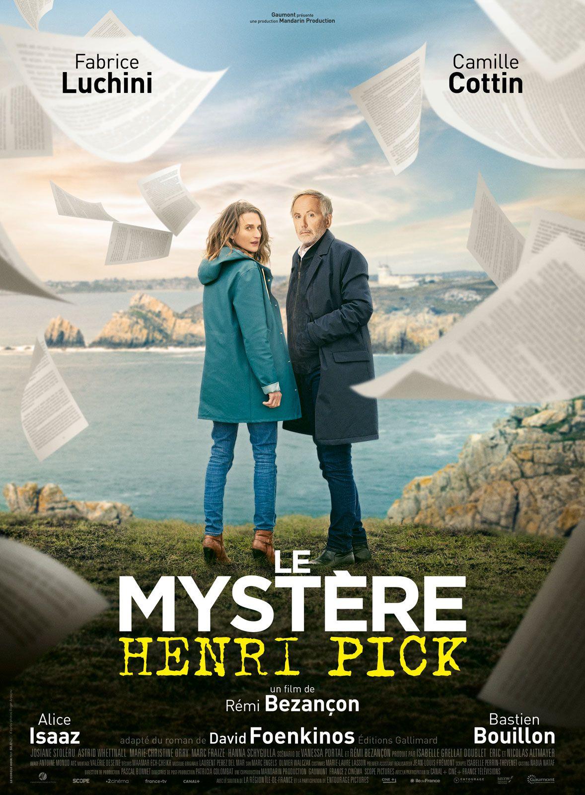 Le Mystère Henri Pick - Film (2019)