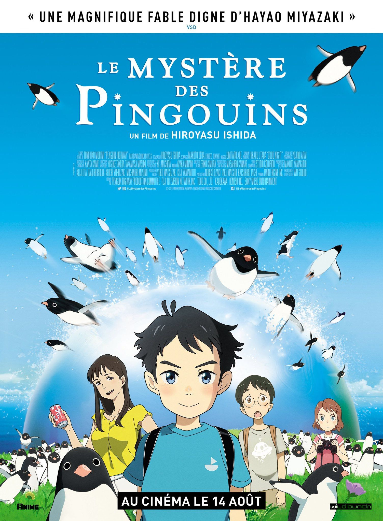 Le Mystère des Pingouins - Long-métrage d'animation (2019)