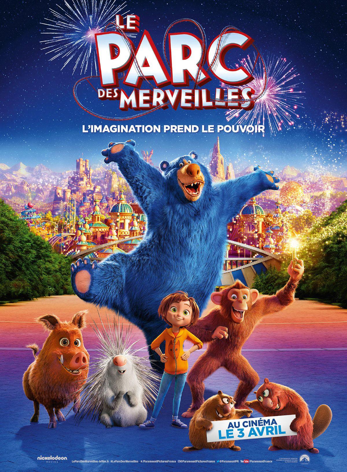 Le Parc des merveilles - Long-métrage d'animation (2019)
