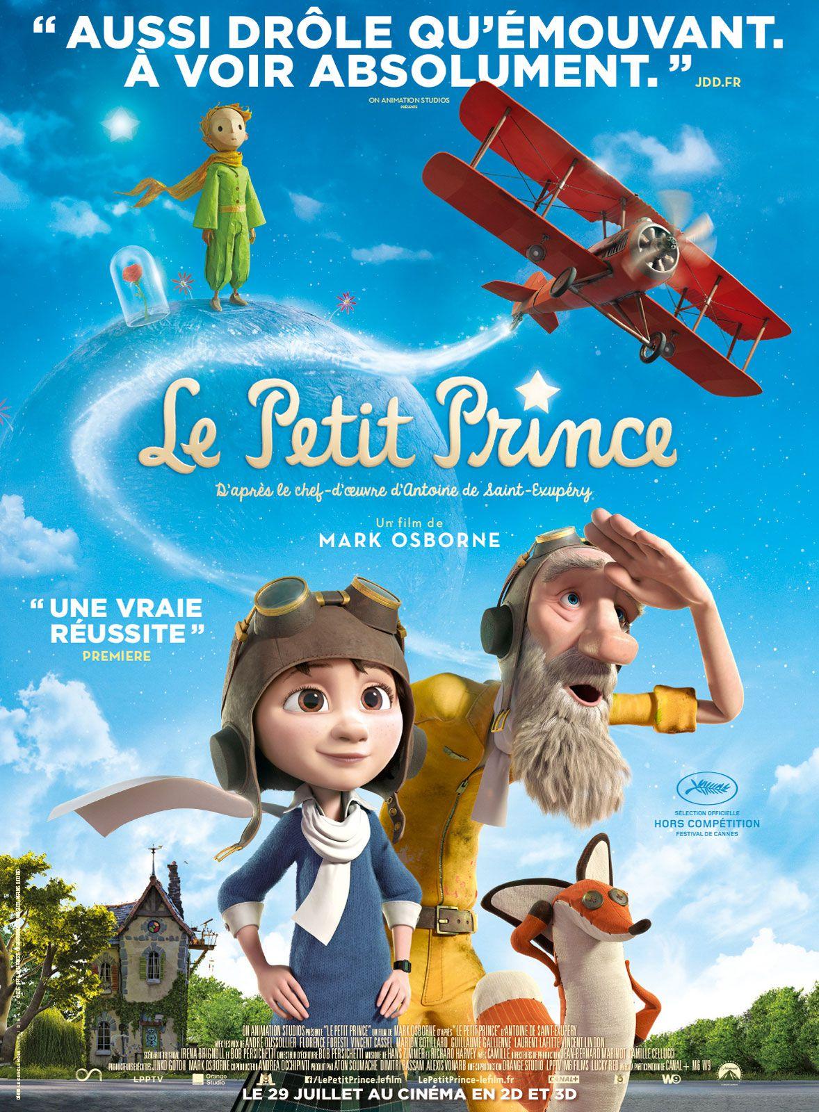 Le Petit Prince - Long-métrage d'animation (2015)