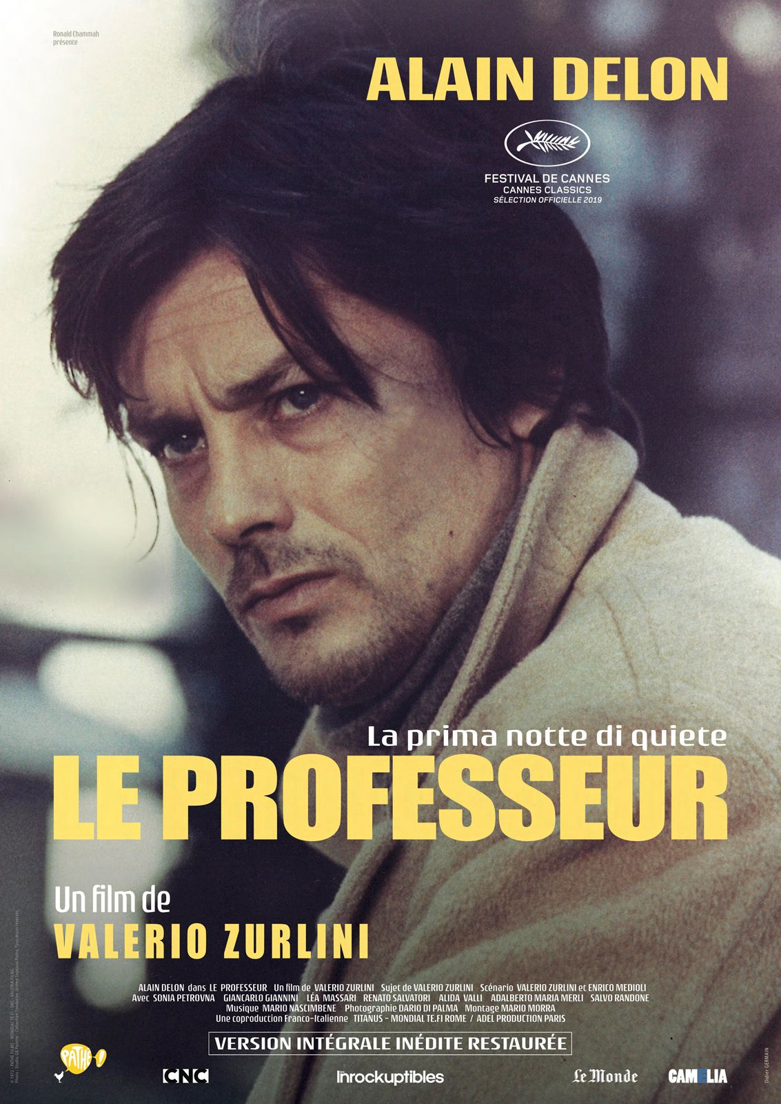 Le Professeur (version director's cut) - Film (1972)