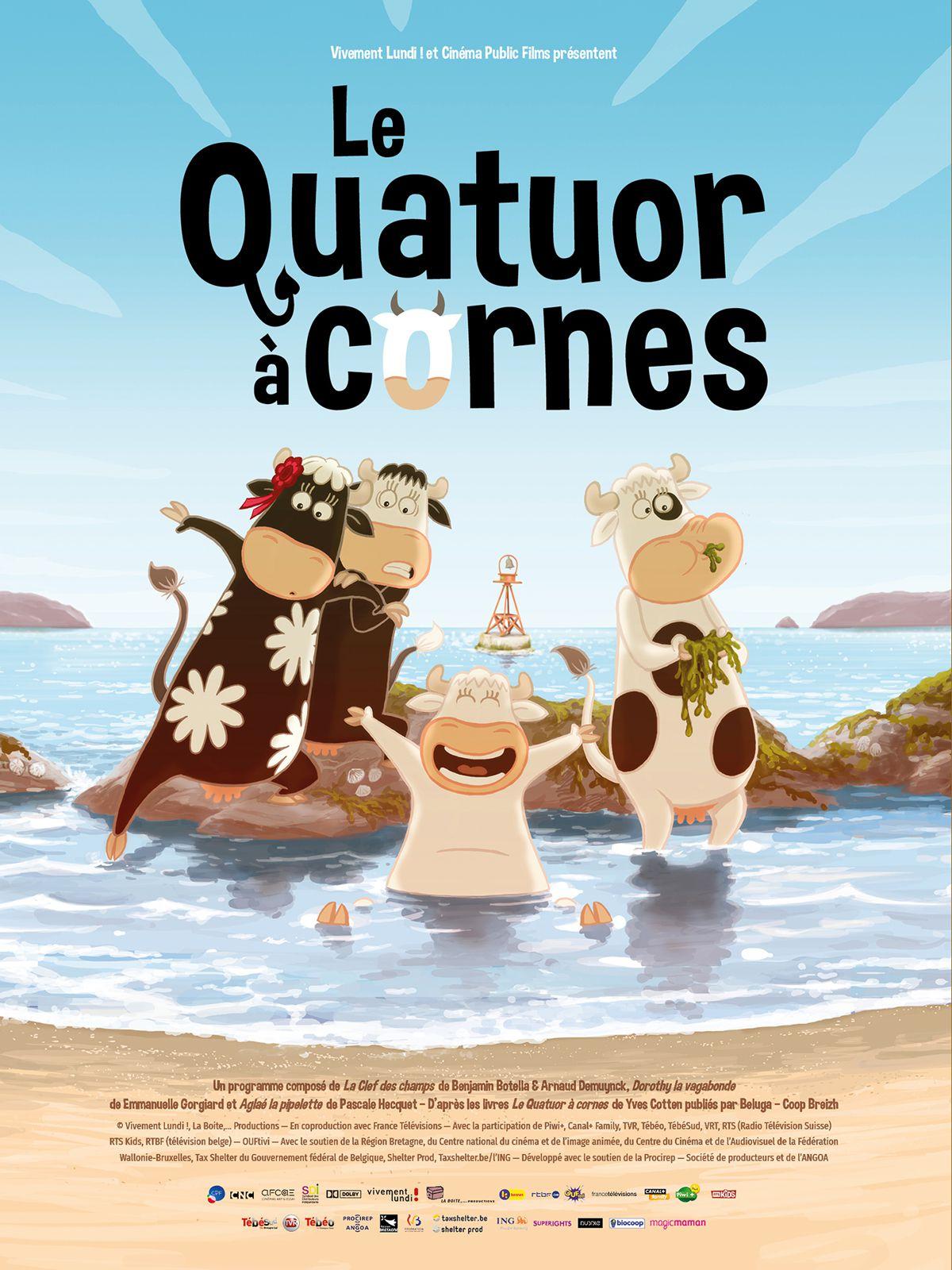 Le Quatuor à cornes - Long-métrage d'animation (2018)