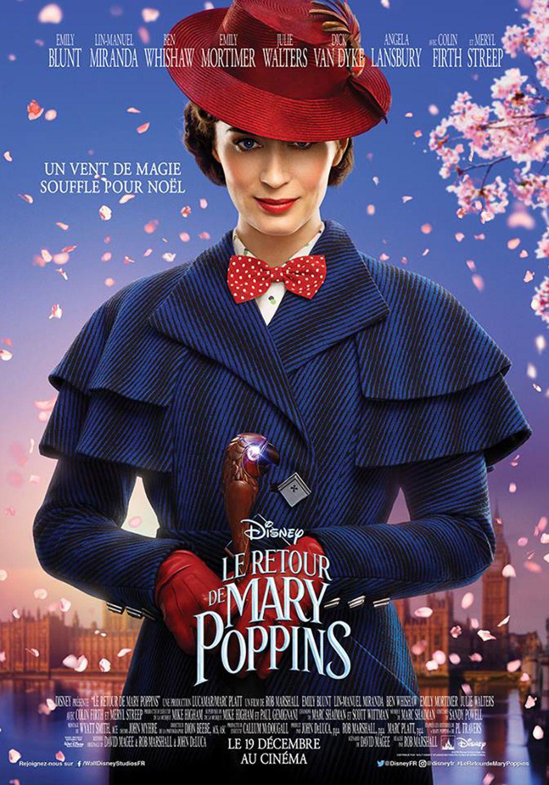 Le Retour de Mary Poppins - Film (2018)