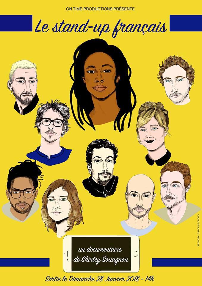 Le Stand-Up Français - Documentaire (2018)