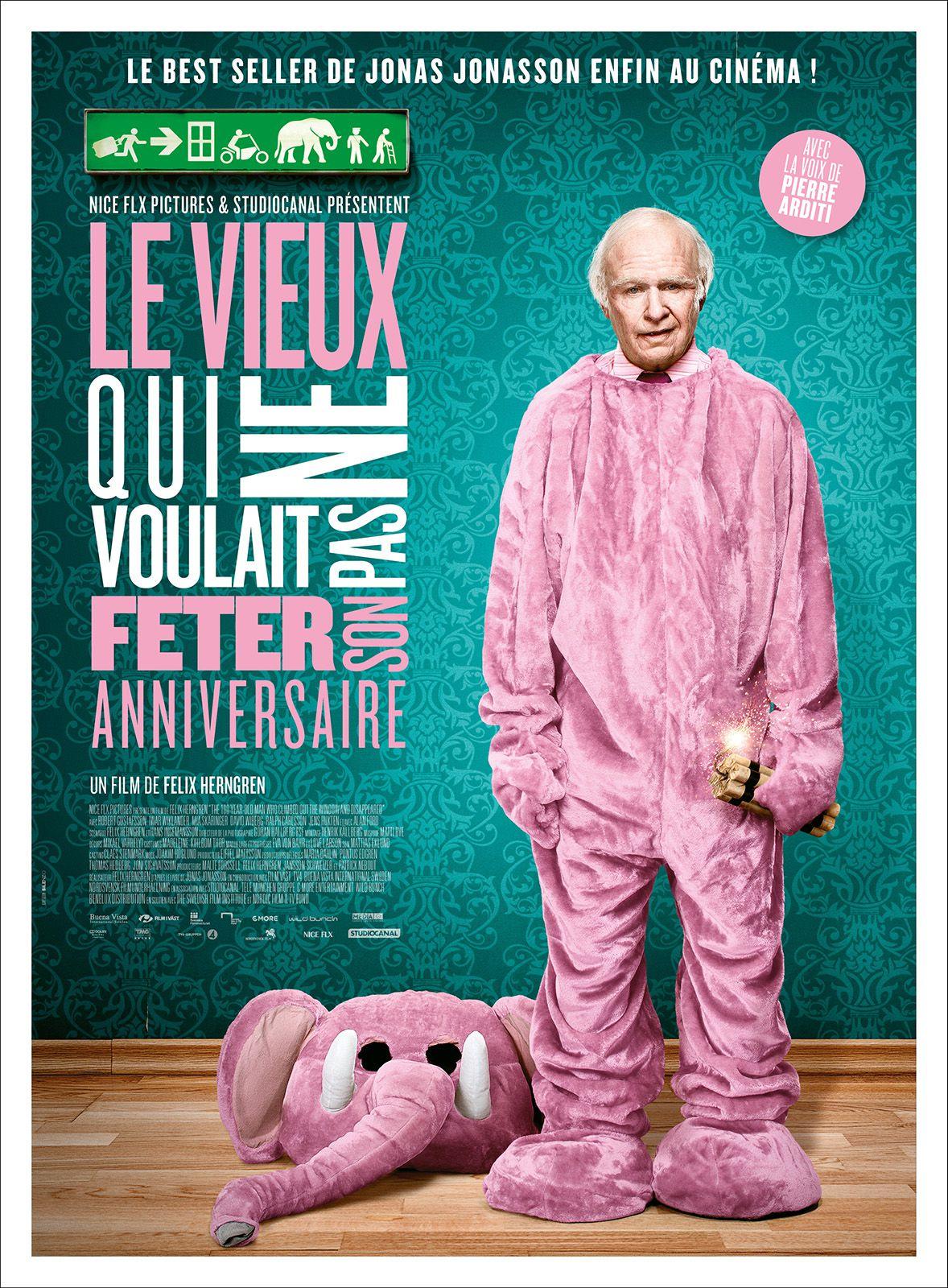 Le Vieux qui ne voulait pas fêter son anniversaire - Film (2013)