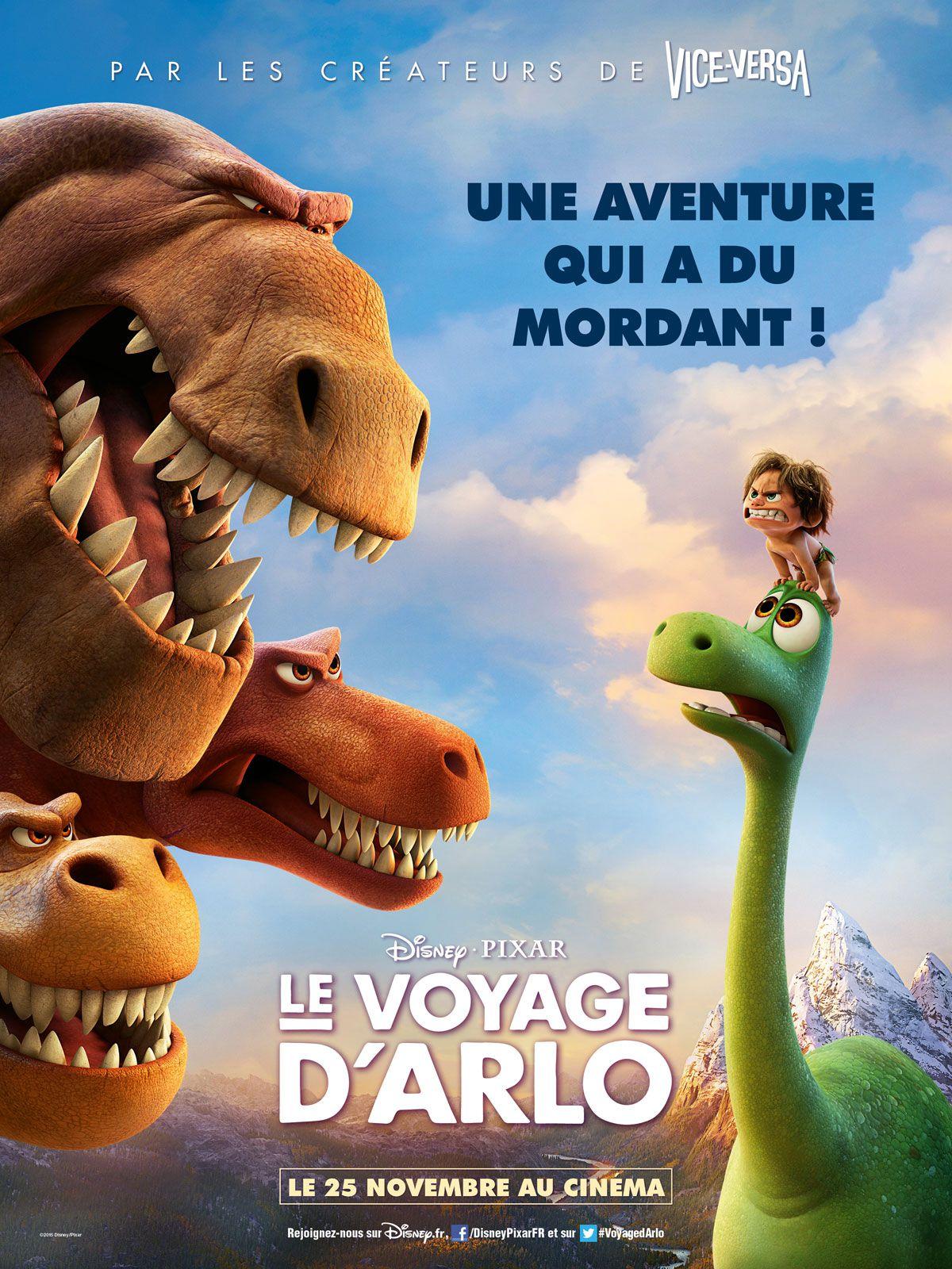 Le Voyage d'Arlo - Long-métrage d'animation (2015)