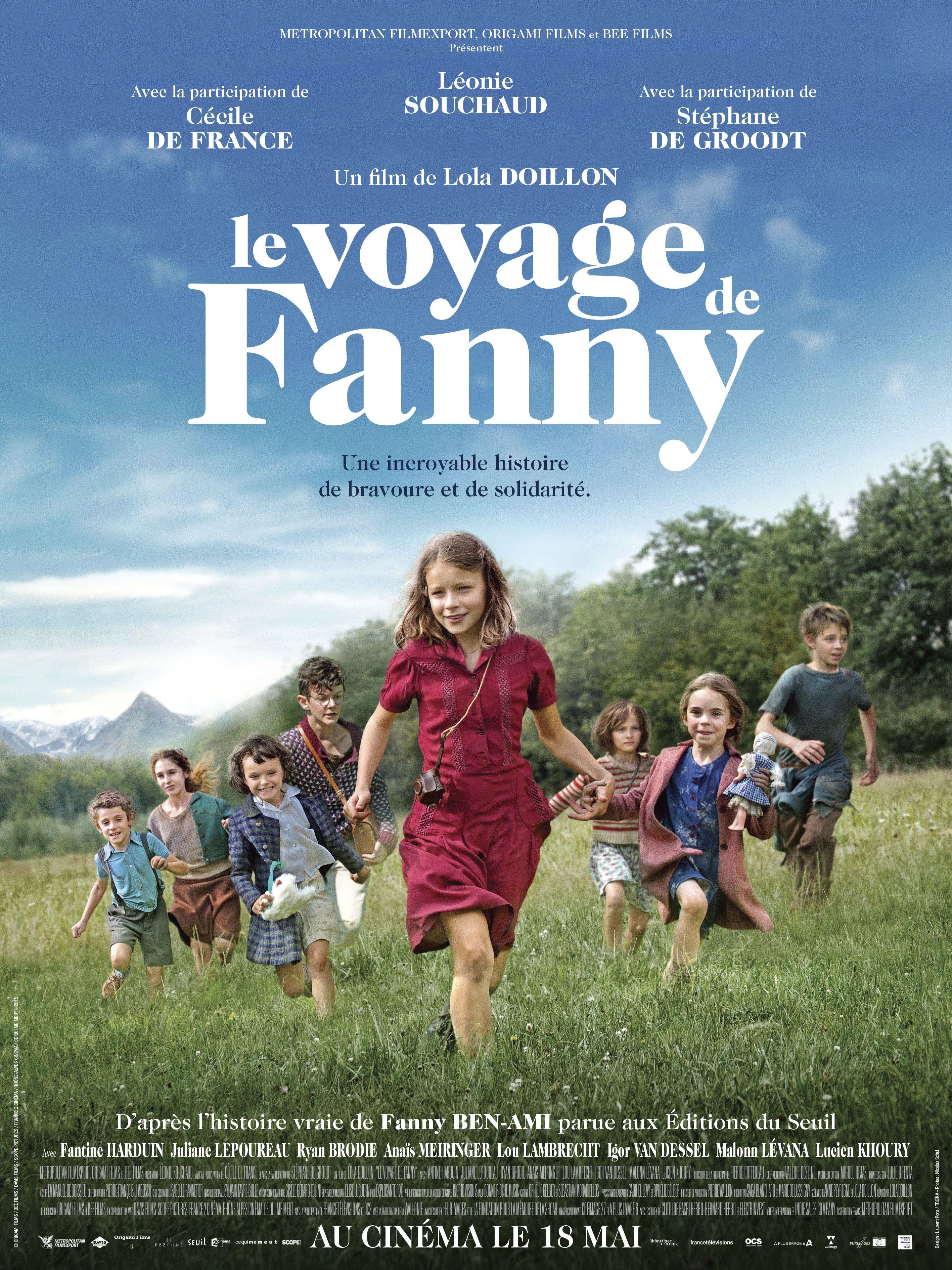 Le Voyage de Fanny - Film (2016)