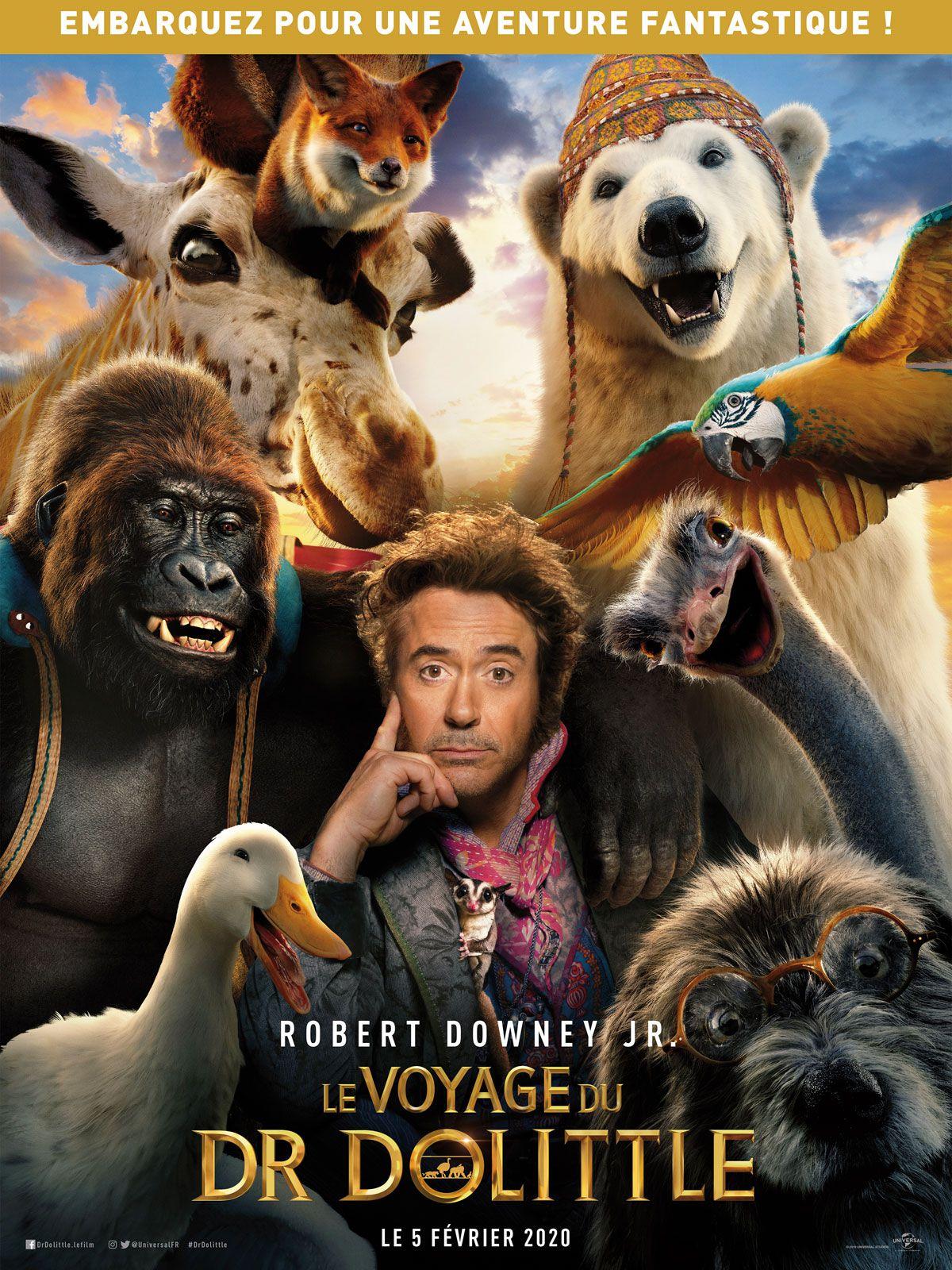 Le Voyage du Dr Dolittle - Film (2020)