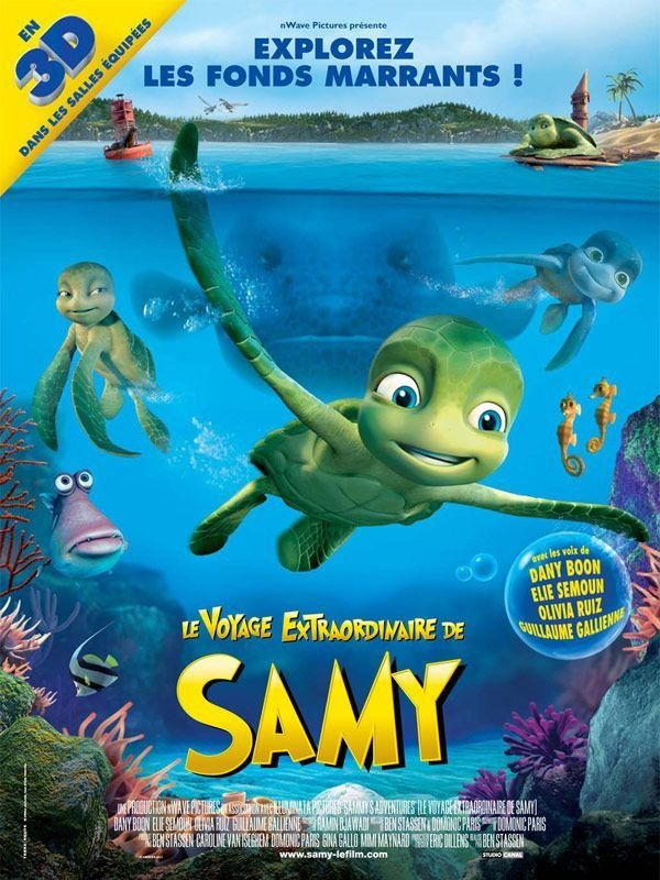 Le Voyage extraordinaire de Samy - Long-métrage d'animation (2010)