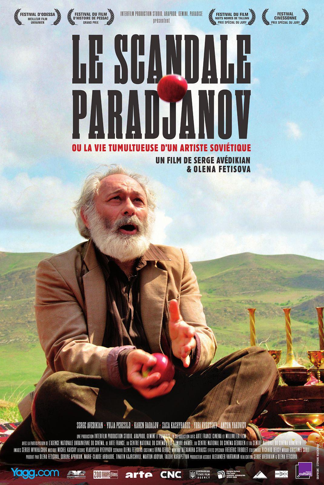 Le scandale Paradjanov ou la vie tumultueuse d'un artiste soviétique - Film (2014)