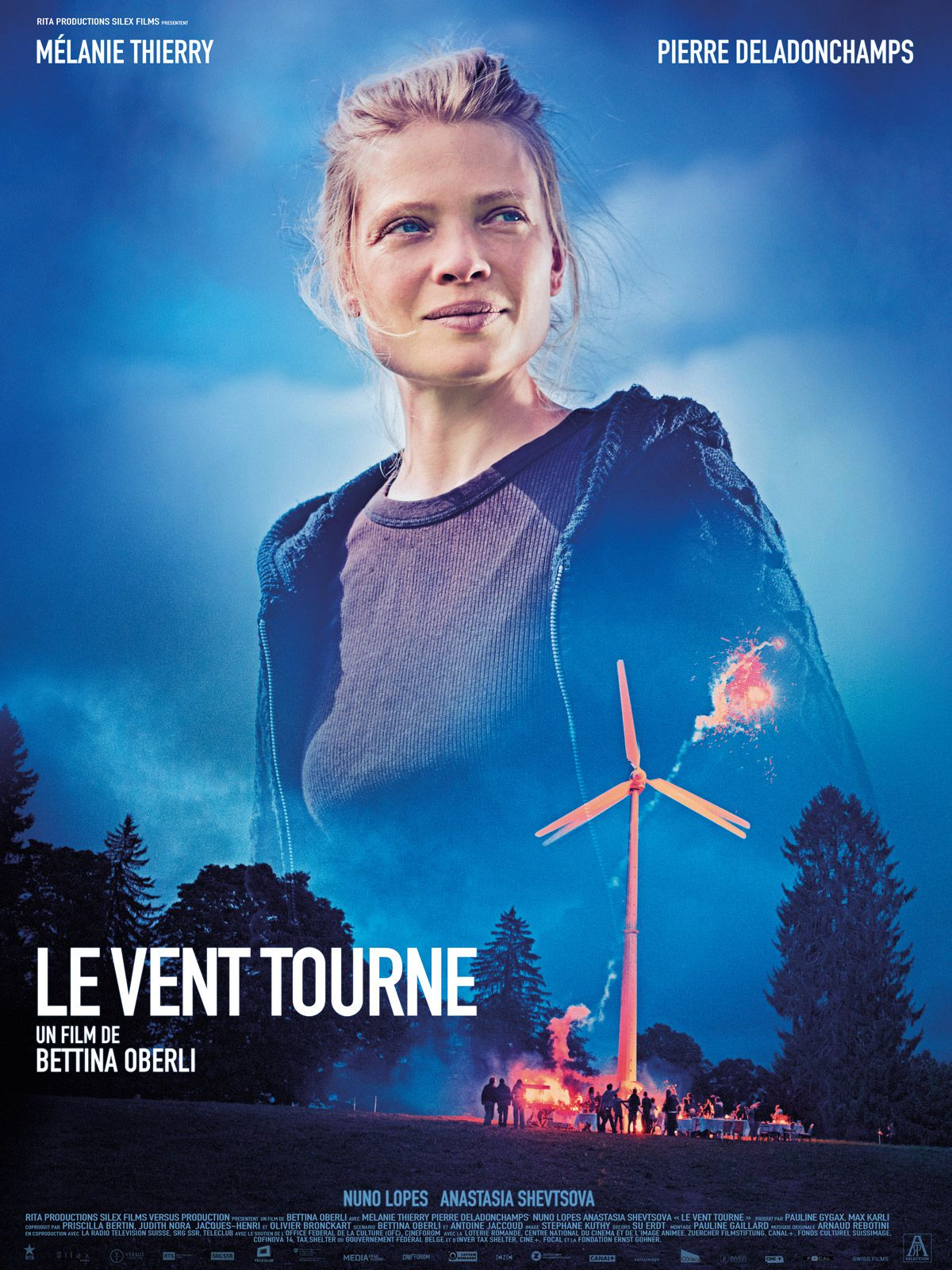 Le vent tourne - Film (2018)