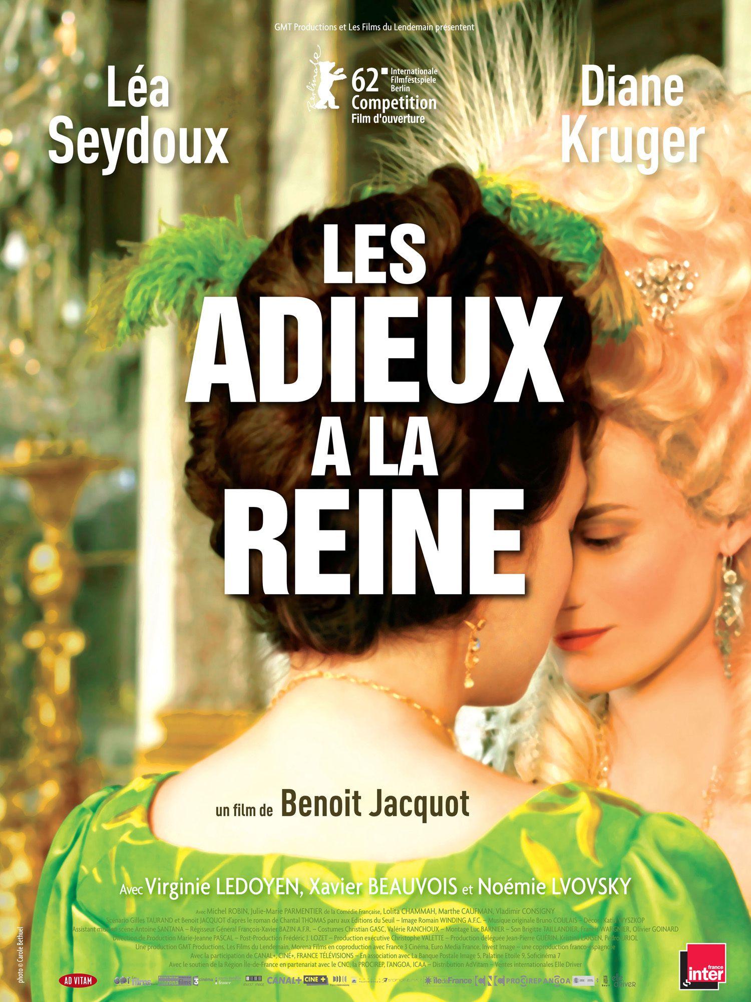 Les Adieux à la reine - Film (2012)