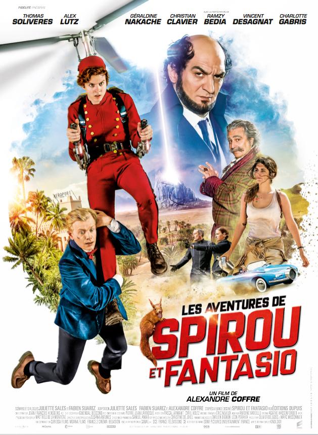 Les Aventures de Spirou et Fantasio - Film (2018)