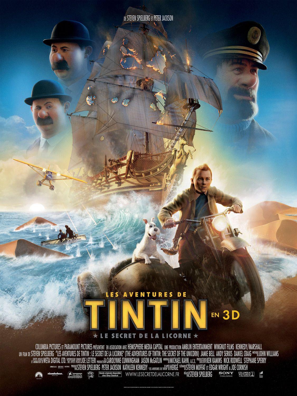 Les Aventures de Tintin : Le Secret de la Licorne - Long-métrage d'animation (2011)