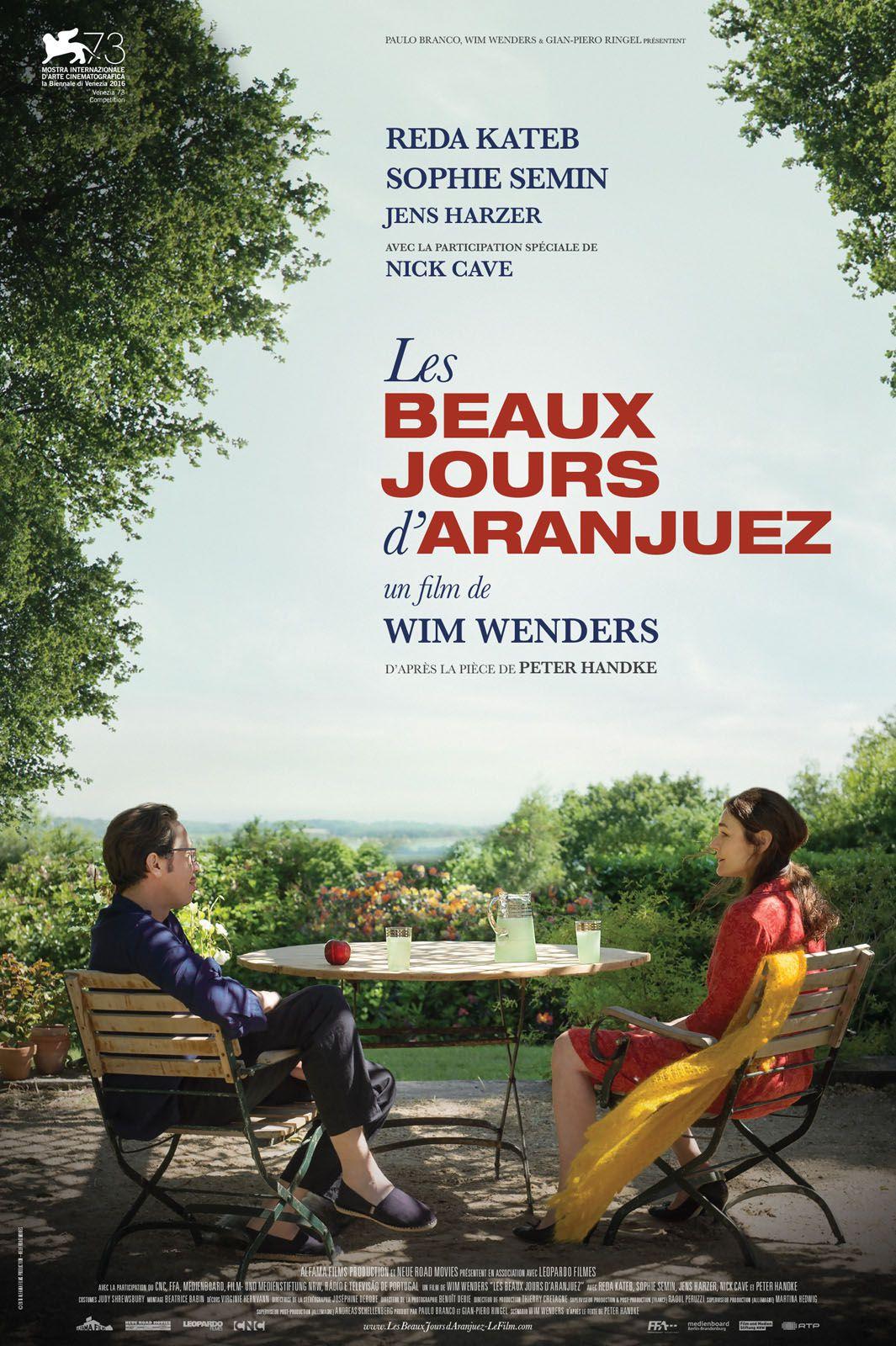Les Beaux Jours d'Aranjuez - Film (2016)