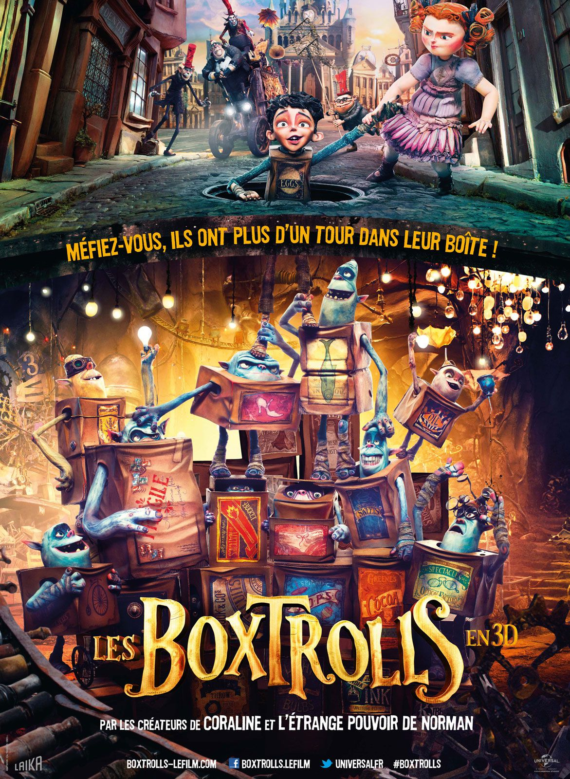 Les Boxtrolls - Long-métrage d'animation (2014)