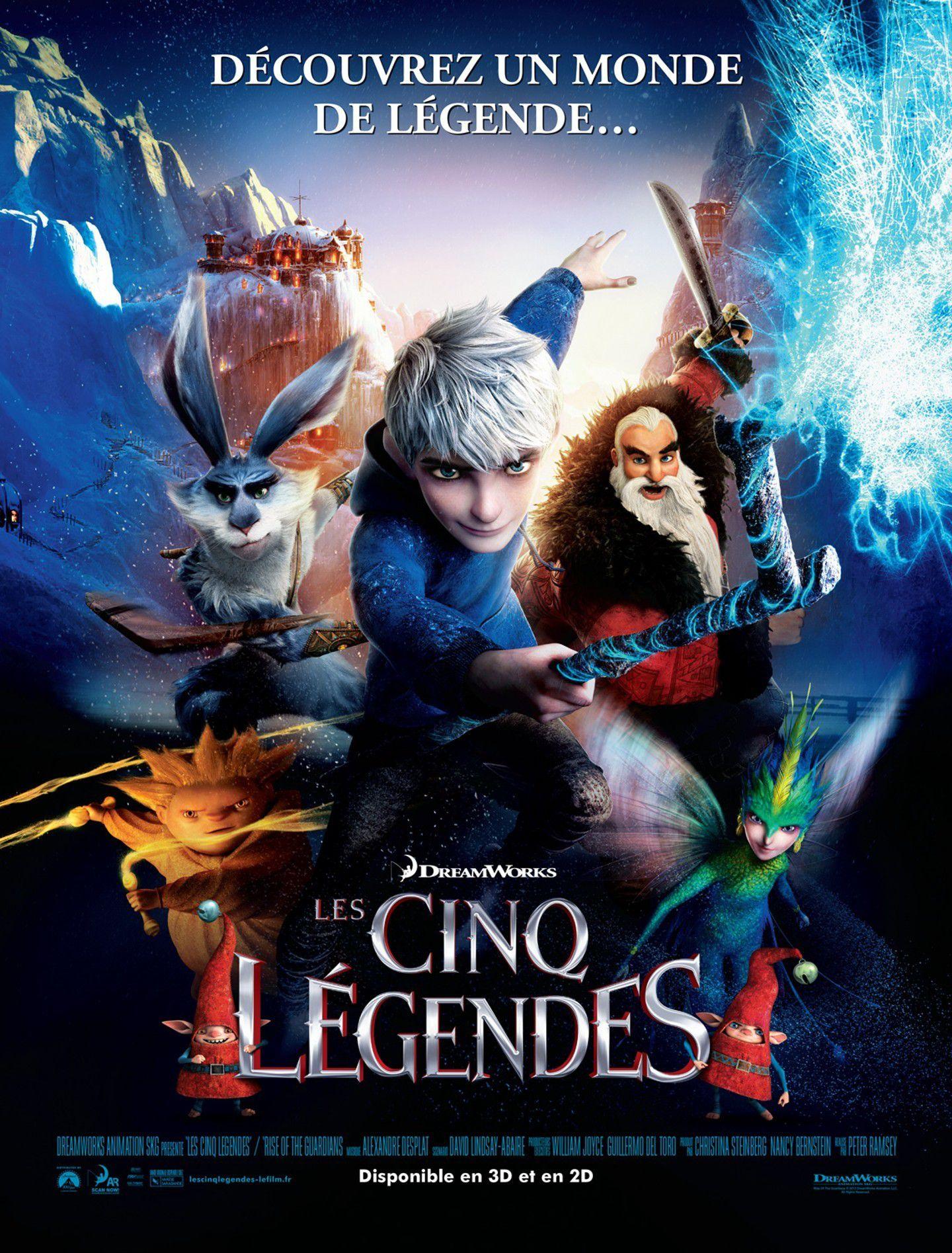 Les Cinq Légendes - Long-métrage d'animation (2012)