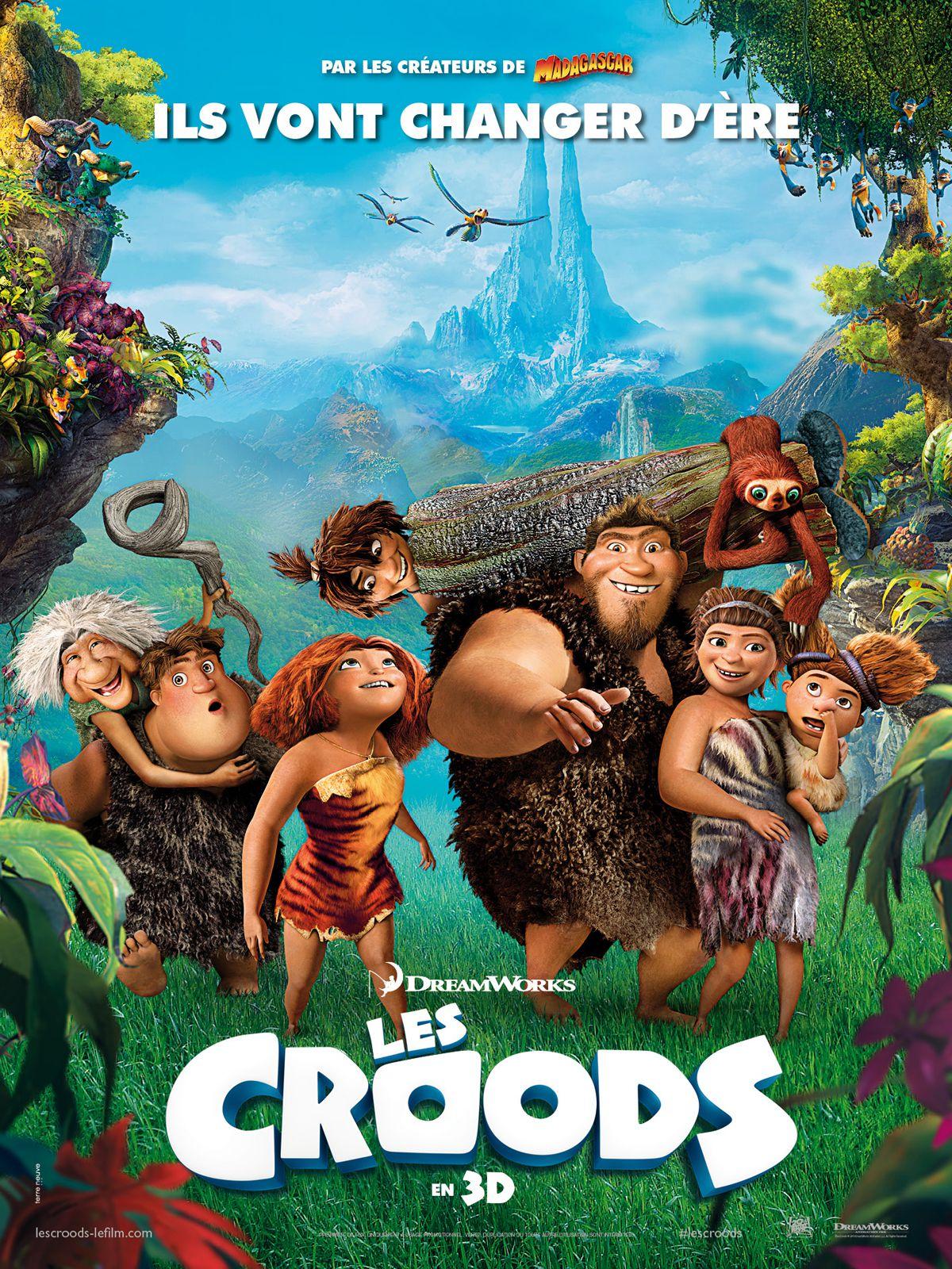 Les Croods - Long-métrage d'animation (2013)