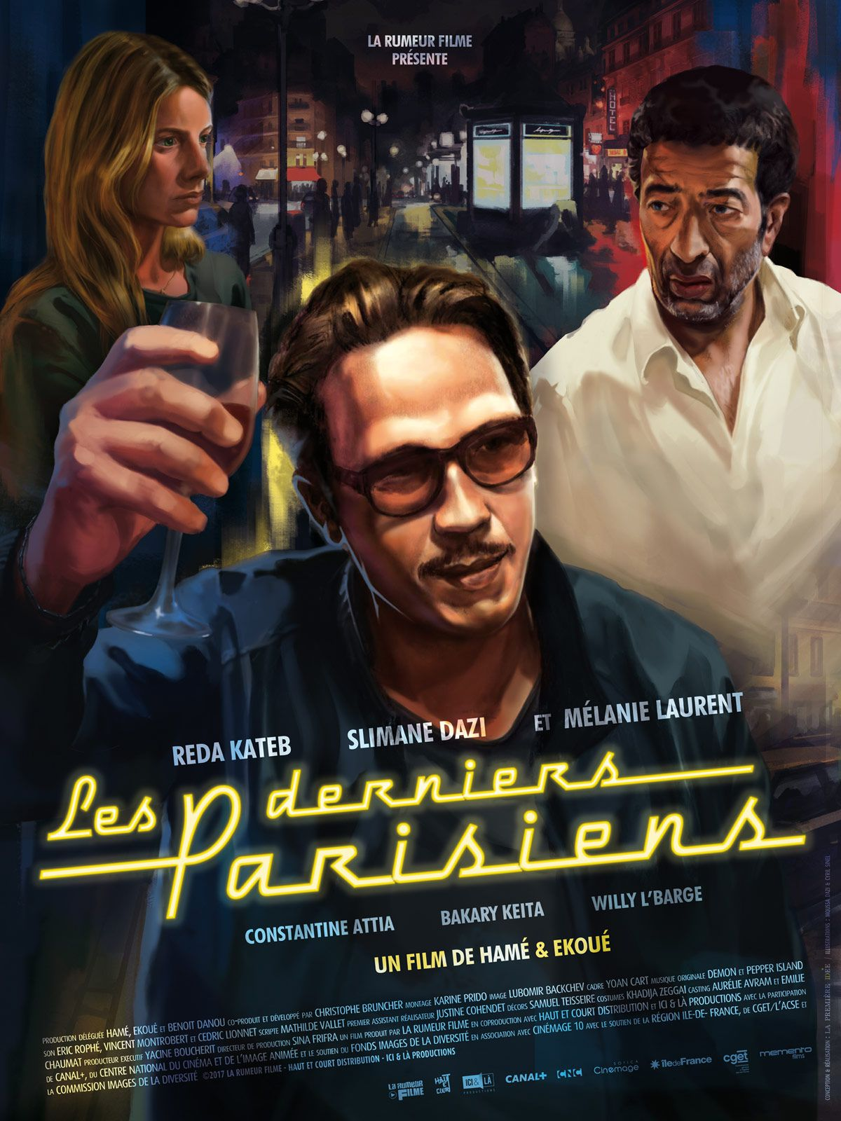 Les Derniers Parisiens - Film (2017)