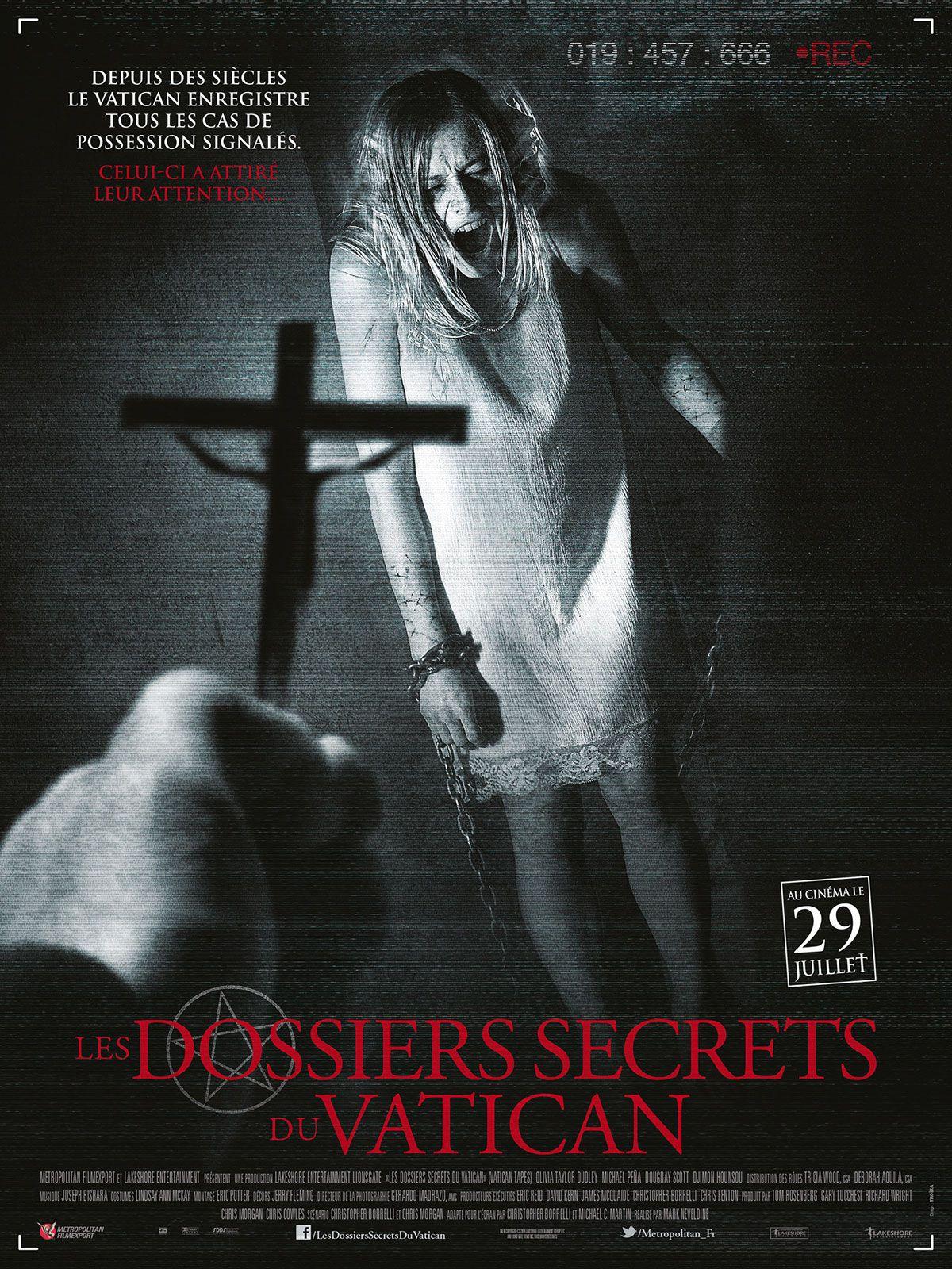 Les Dossiers secrets du Vatican - Film (2015)