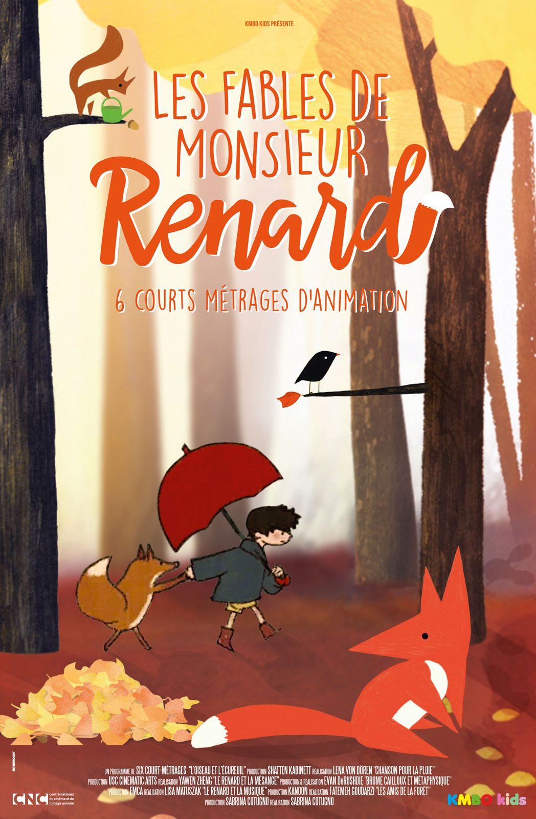 Les Fables de Monsieur Renard - Long-métrage d'animation (2015)