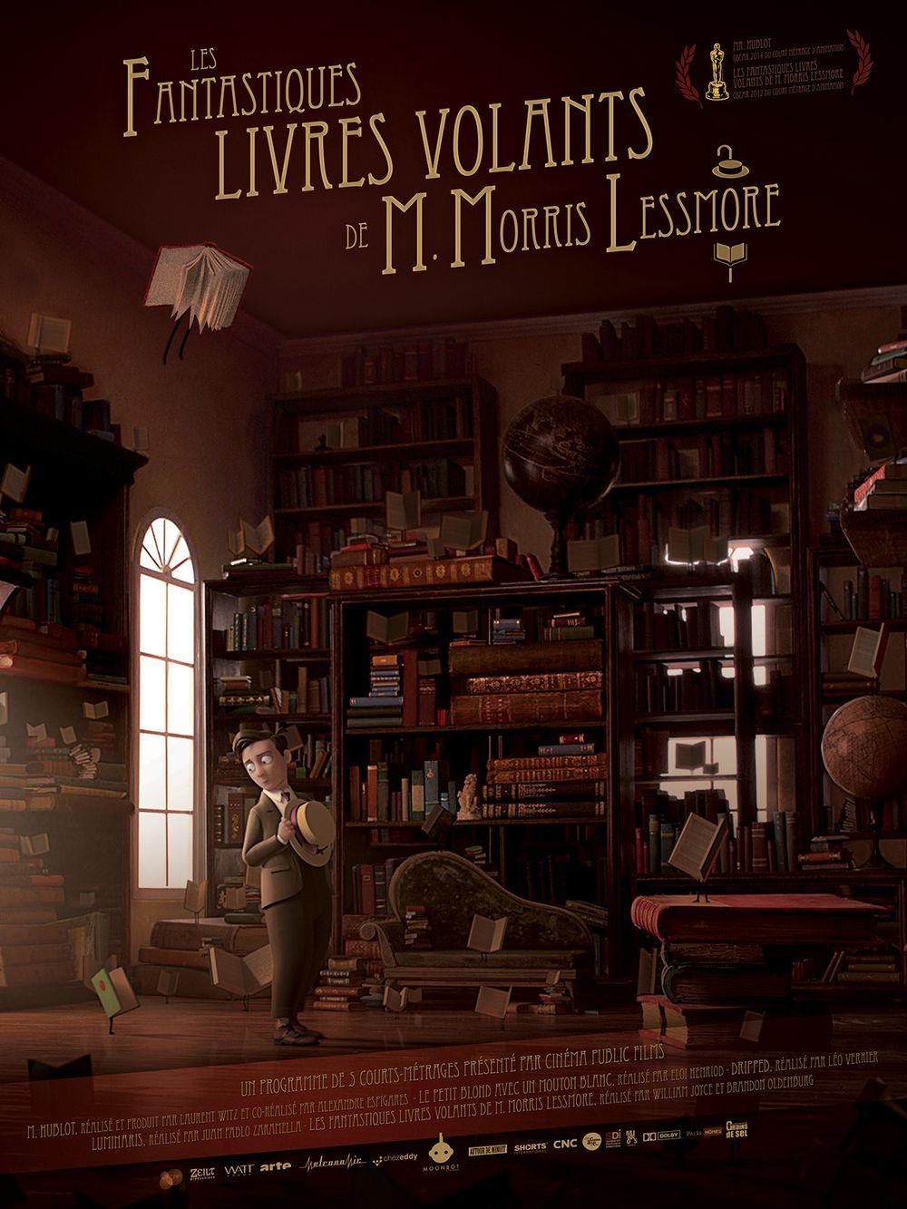 Les Fantastiques livres volants de M. Morris Lessmore et autres histoires - Film (2014)