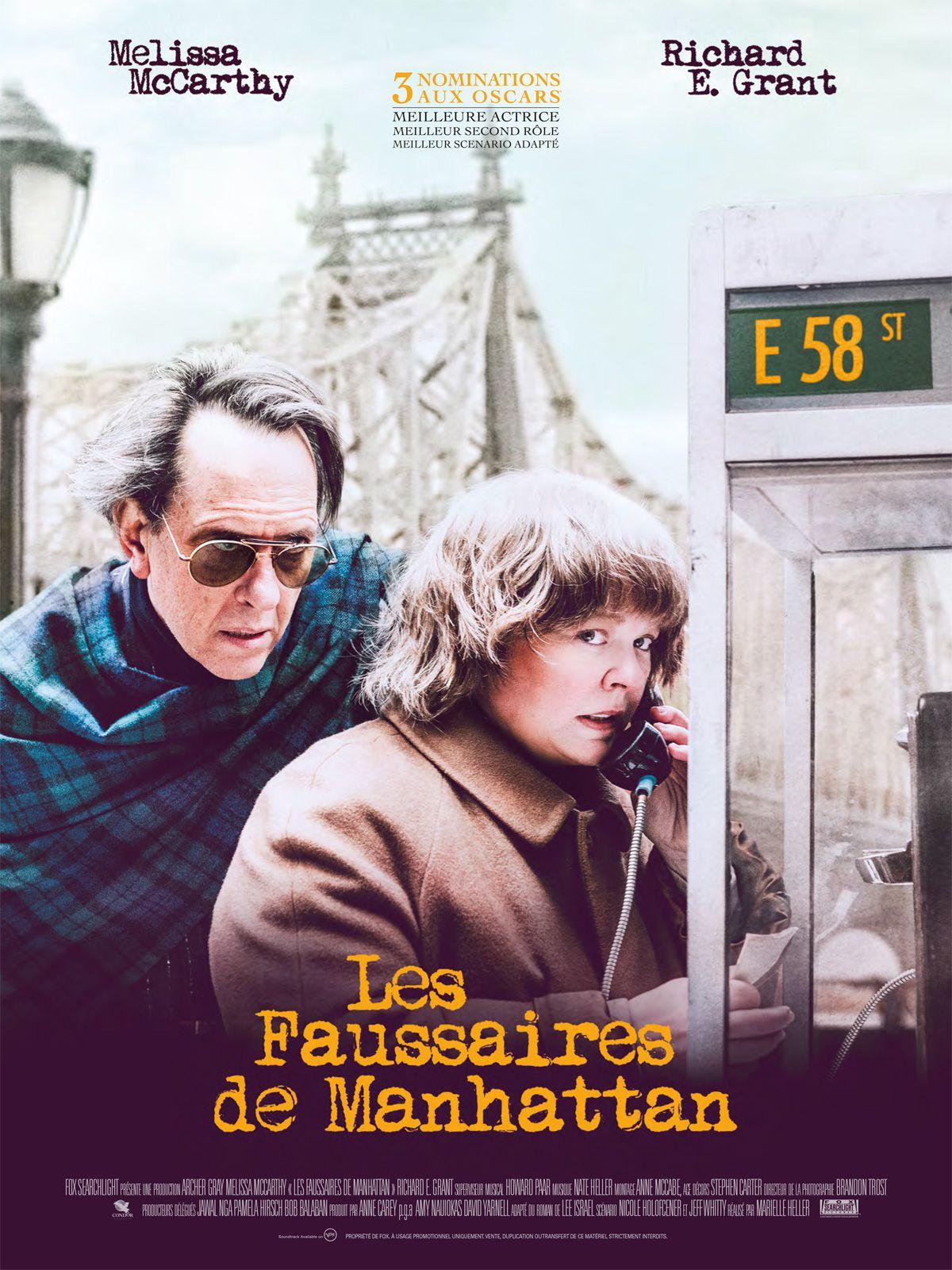 Les Faussaires de Manhattan - Film (2019)