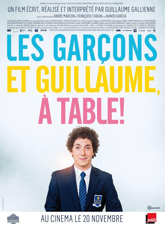 Les Garçons et Guillaume, à table ! - Film (2013)