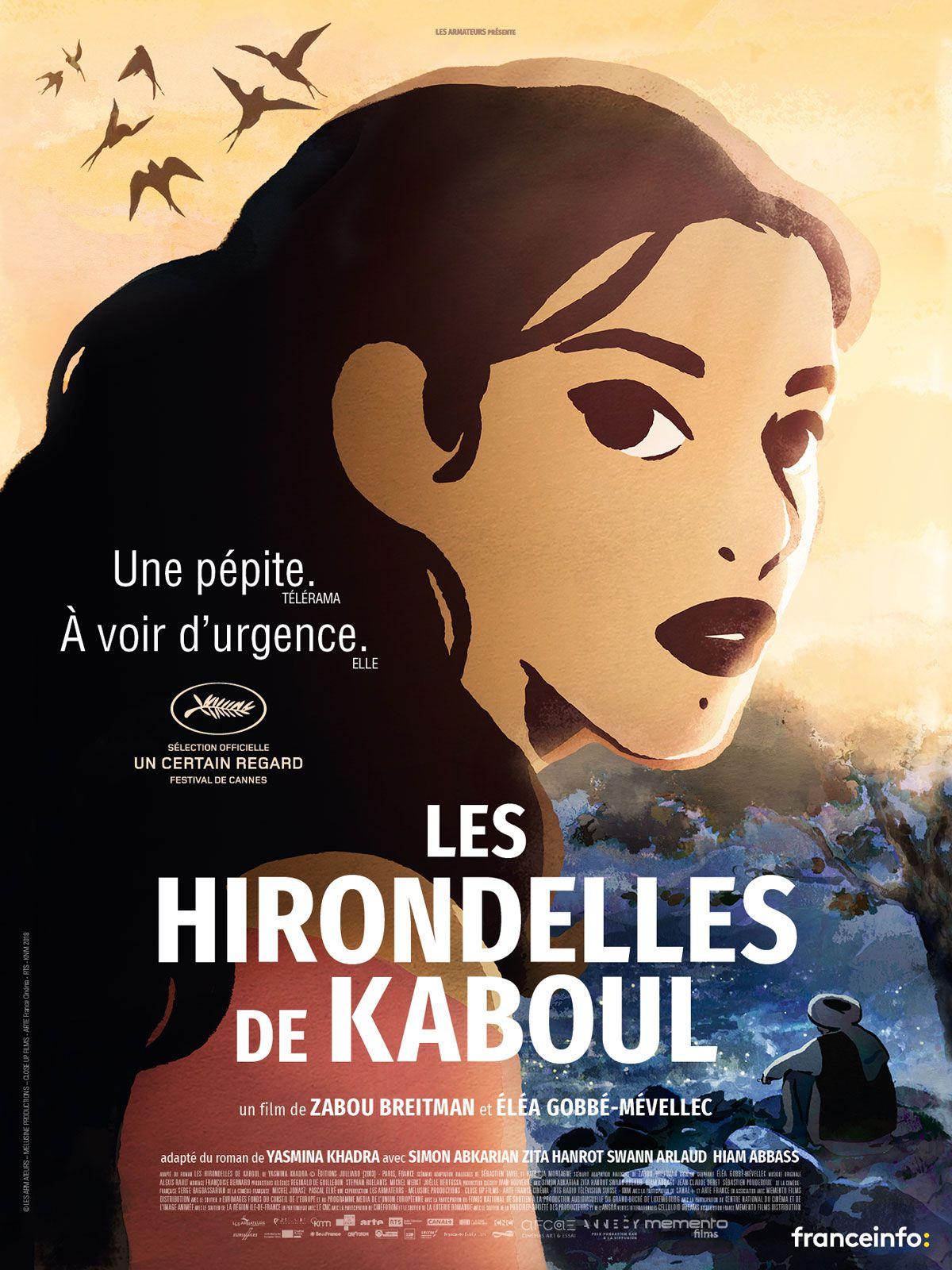 Les Hirondelles de Kaboul - Long-métrage d'animation (2019)