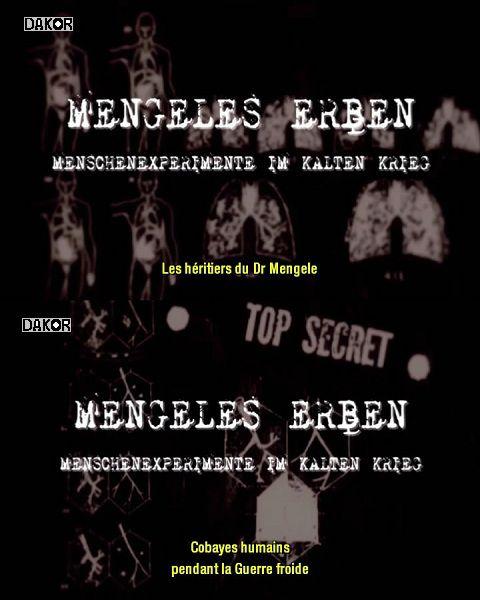 Les Héritiers du Docteur Mengele - Documentaire (2010)