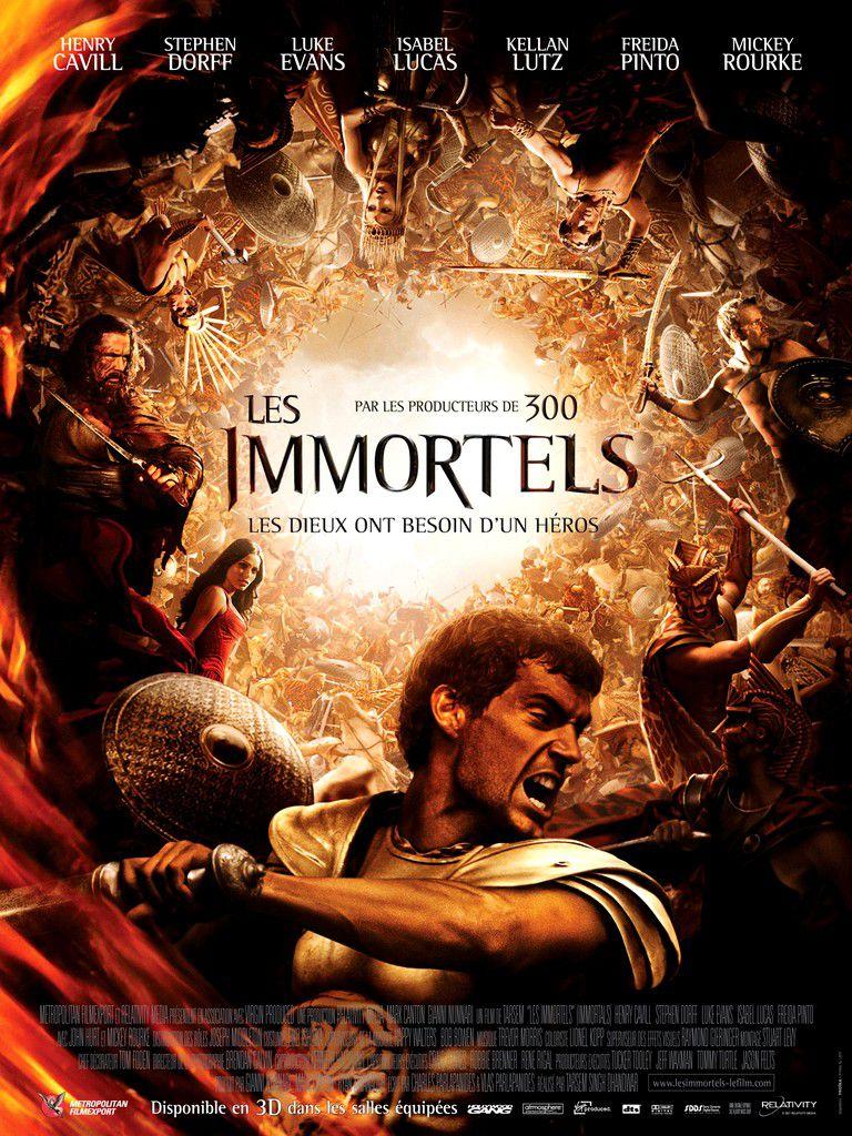 Les Immortels - Film (2011)
