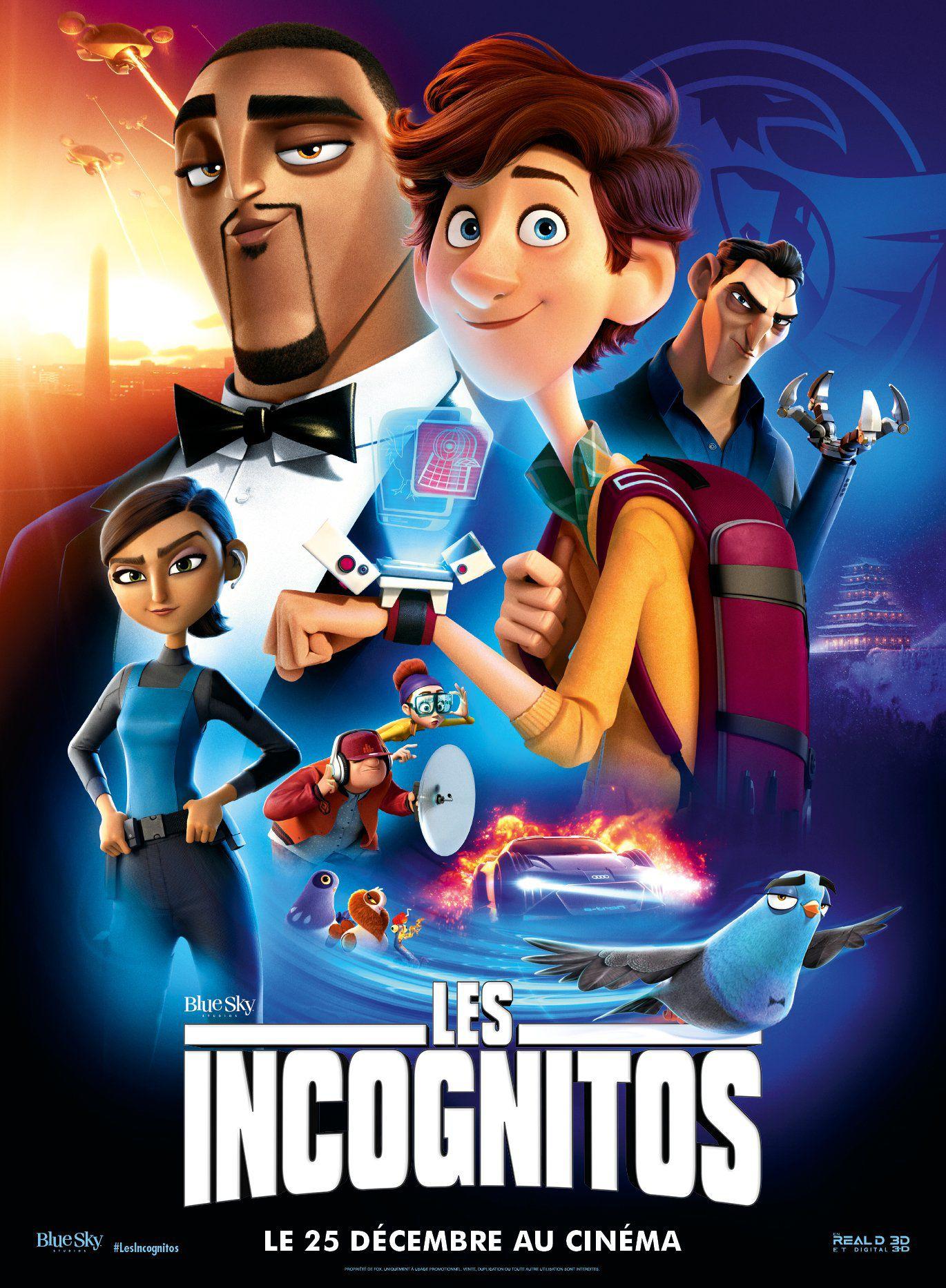 Les Incognitos - Long-métrage d'animation (2019)