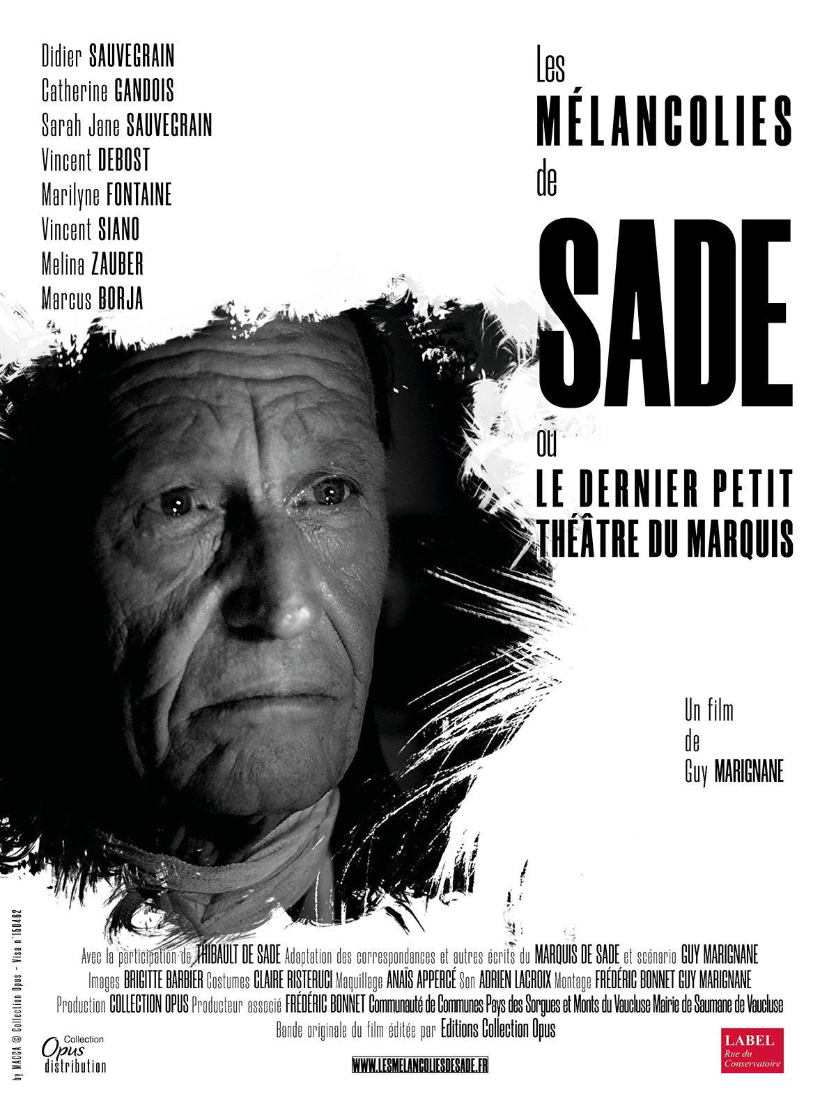 Les Mélancolies de Sade - Film (2020)