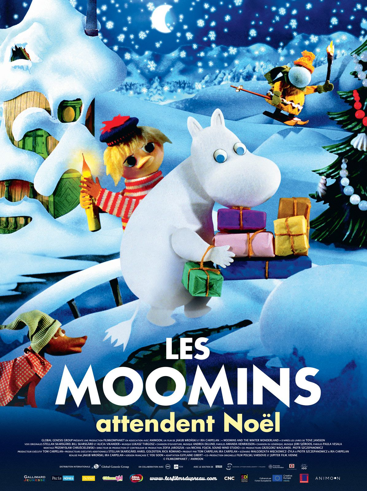 Les Moomins attendent Noël - Long-métrage d'animation (2017)