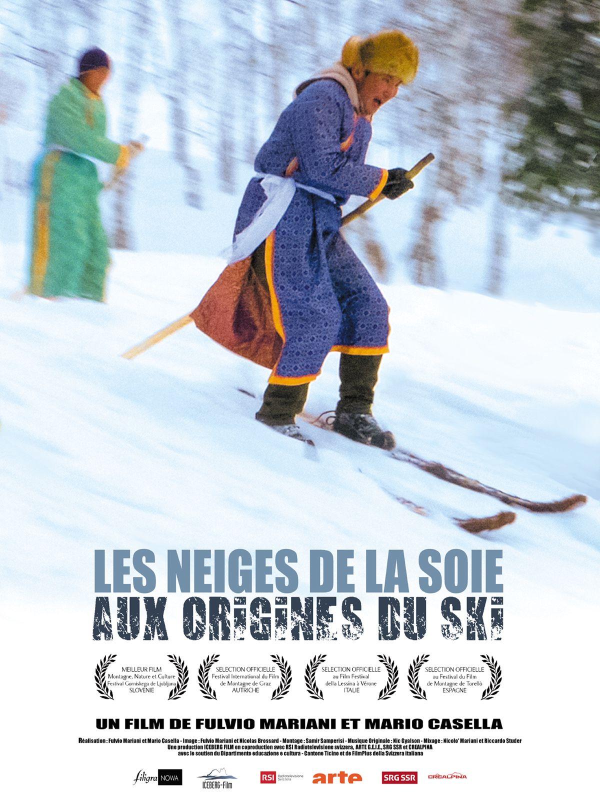 Les Neiges de la soie - Aux origines du ski - Documentaire (2018)