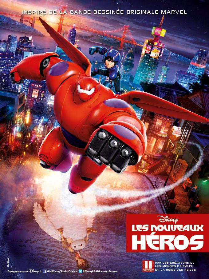 Les Nouveaux Héros - Long-métrage d'animation (2014)