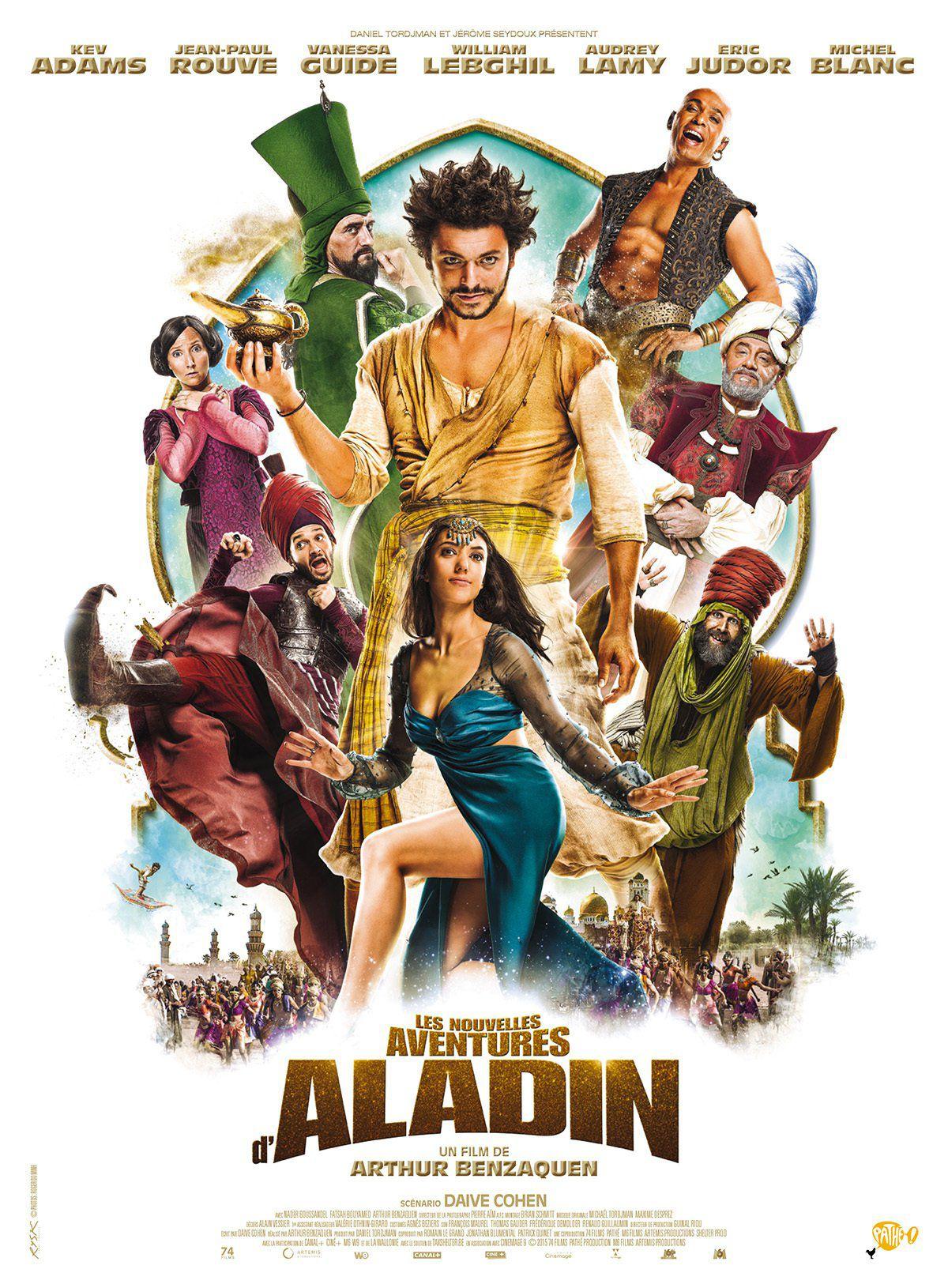 Les Nouvelles Aventures d'Aladin - Film (2015)