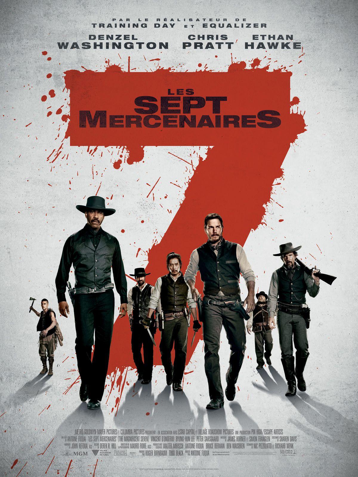 Les Sept Mercenaires - Film (2016)