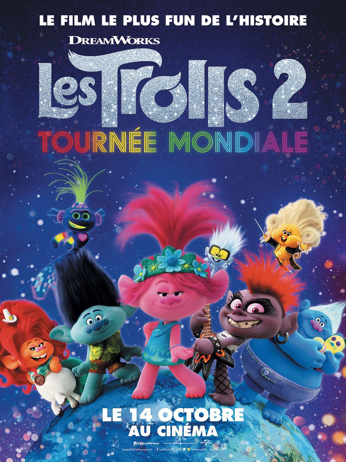Les Trolls 2 : Tournée mondiale - Long-métrage d'animation (2020)