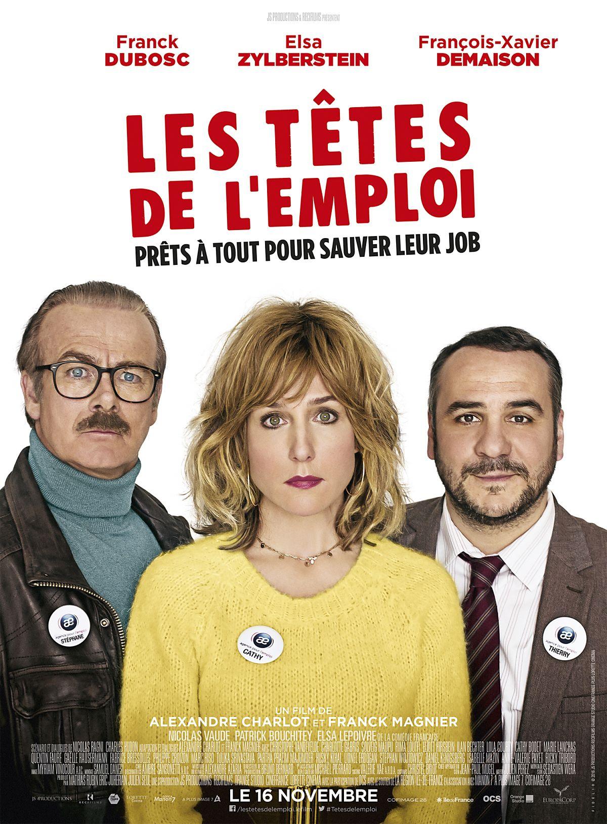 Les Têtes de l'emploi - Film (2016)