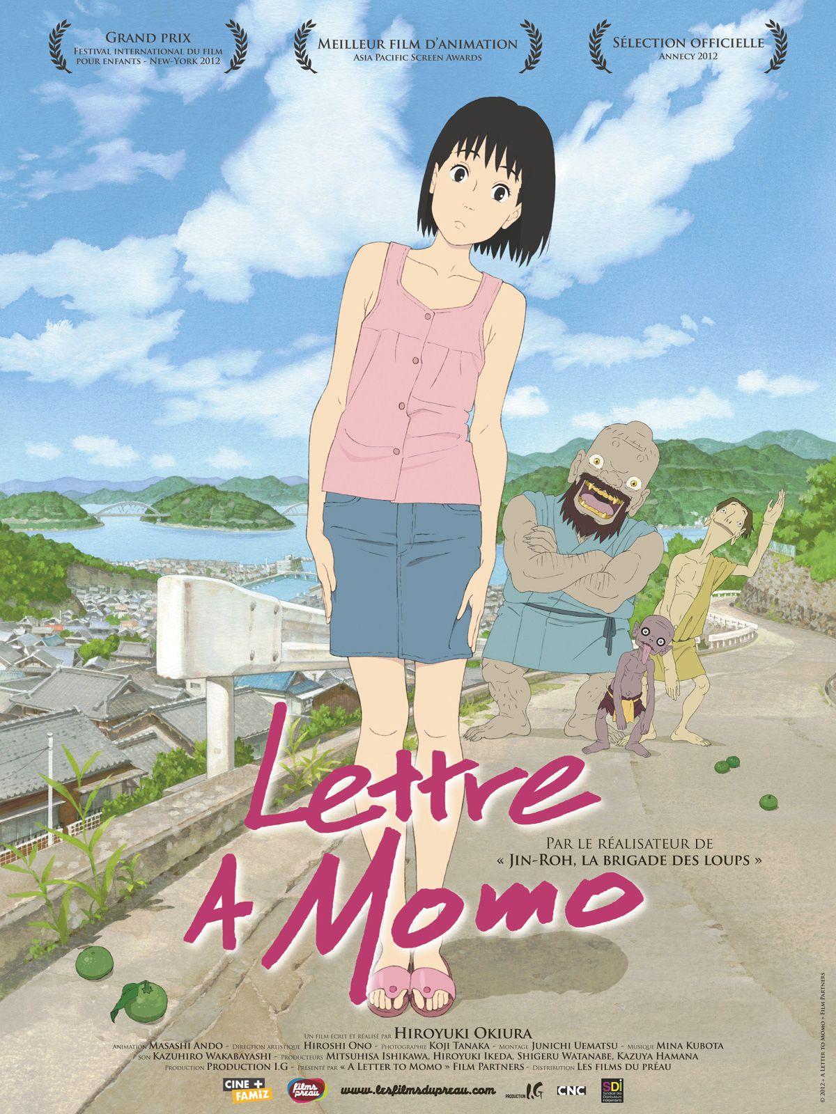 Lettre à Momo - Long-métrage d'animation (2011)